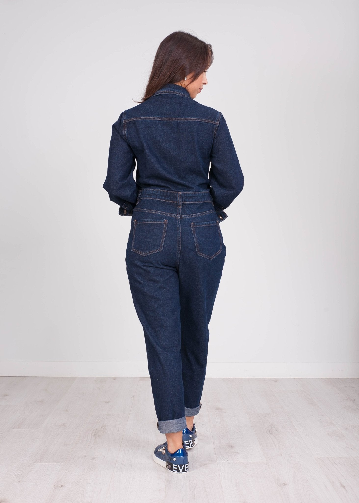 Emilia Denim Jumpsuit - The Walk in Wardrobe