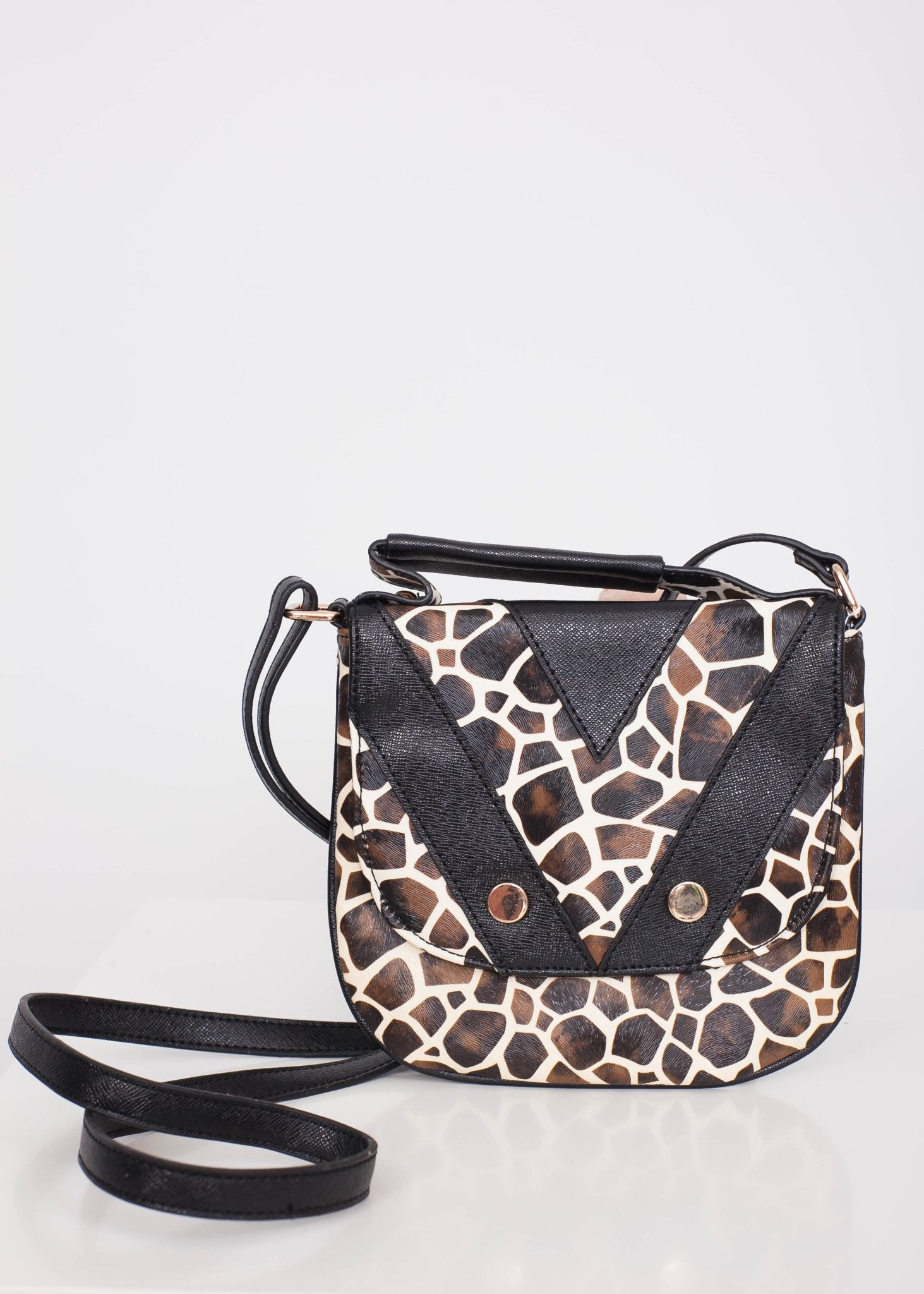Emilia Giraffe Crossbody Bag - The Walk in Wardrobe