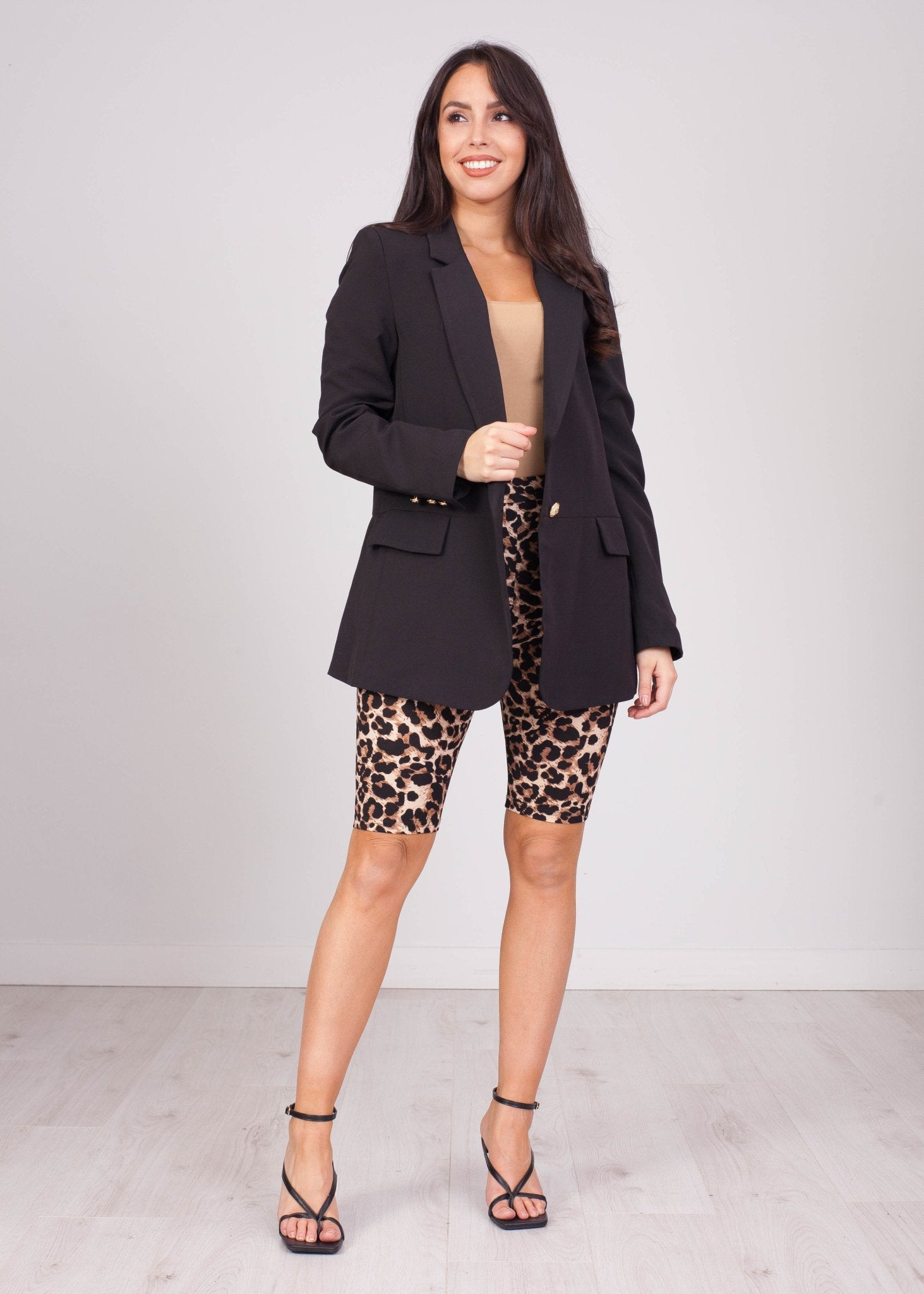 Emilia Leopard Bike Short - The Walk in Wardrobe