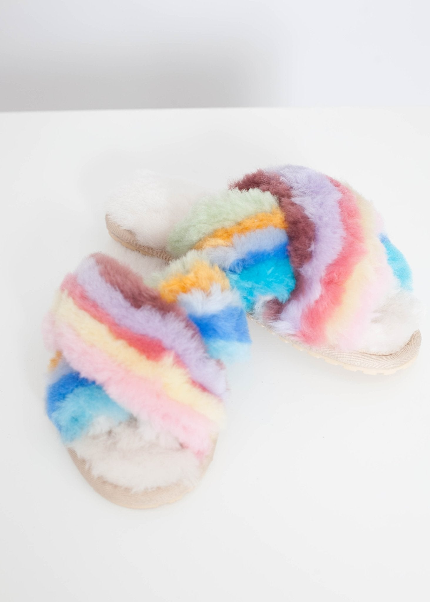 EMU Mayberry Rainbow Slipper In Multi - The Walk in Wardrobe