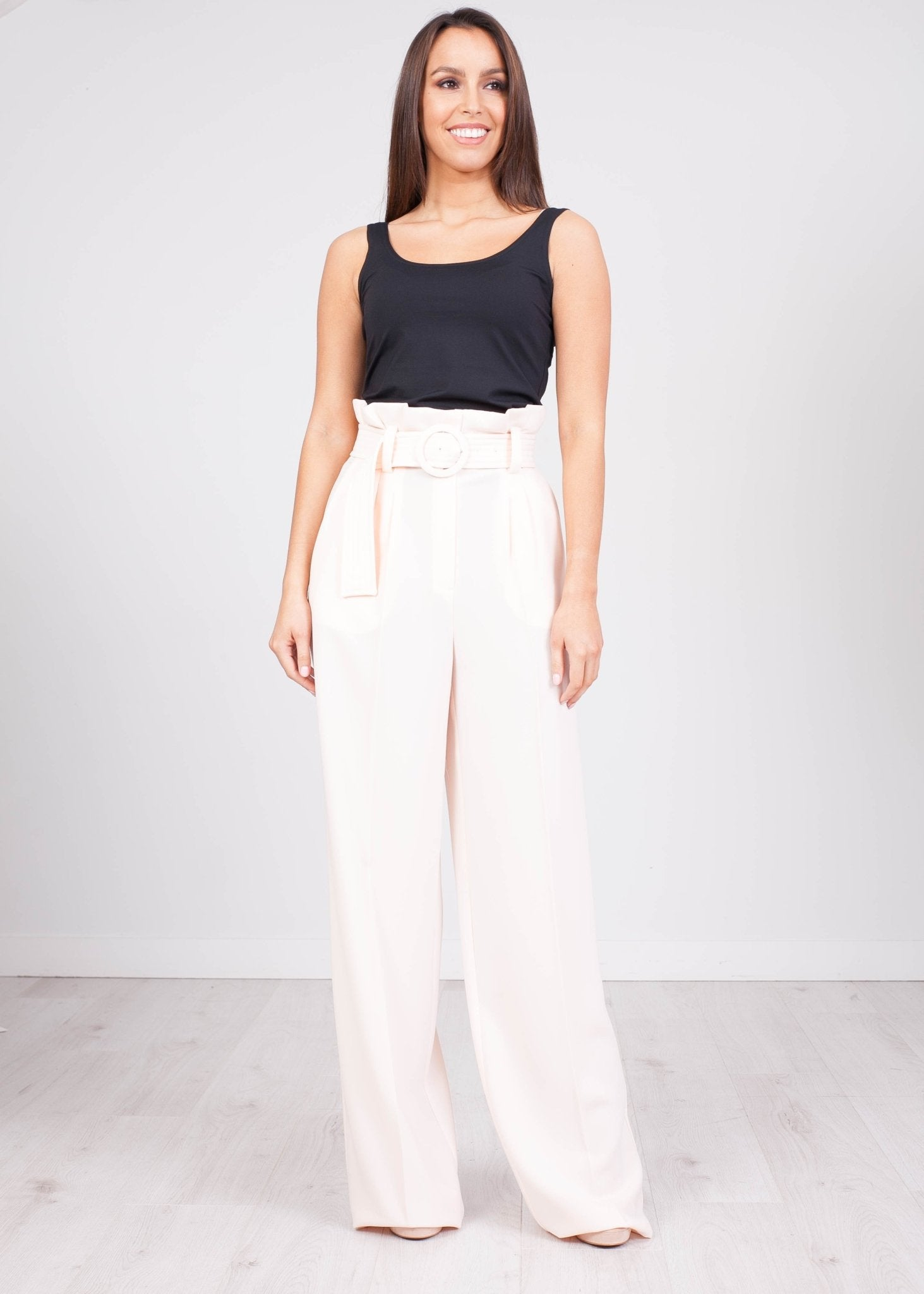 Eva Blush Trousers - The Walk in Wardrobe