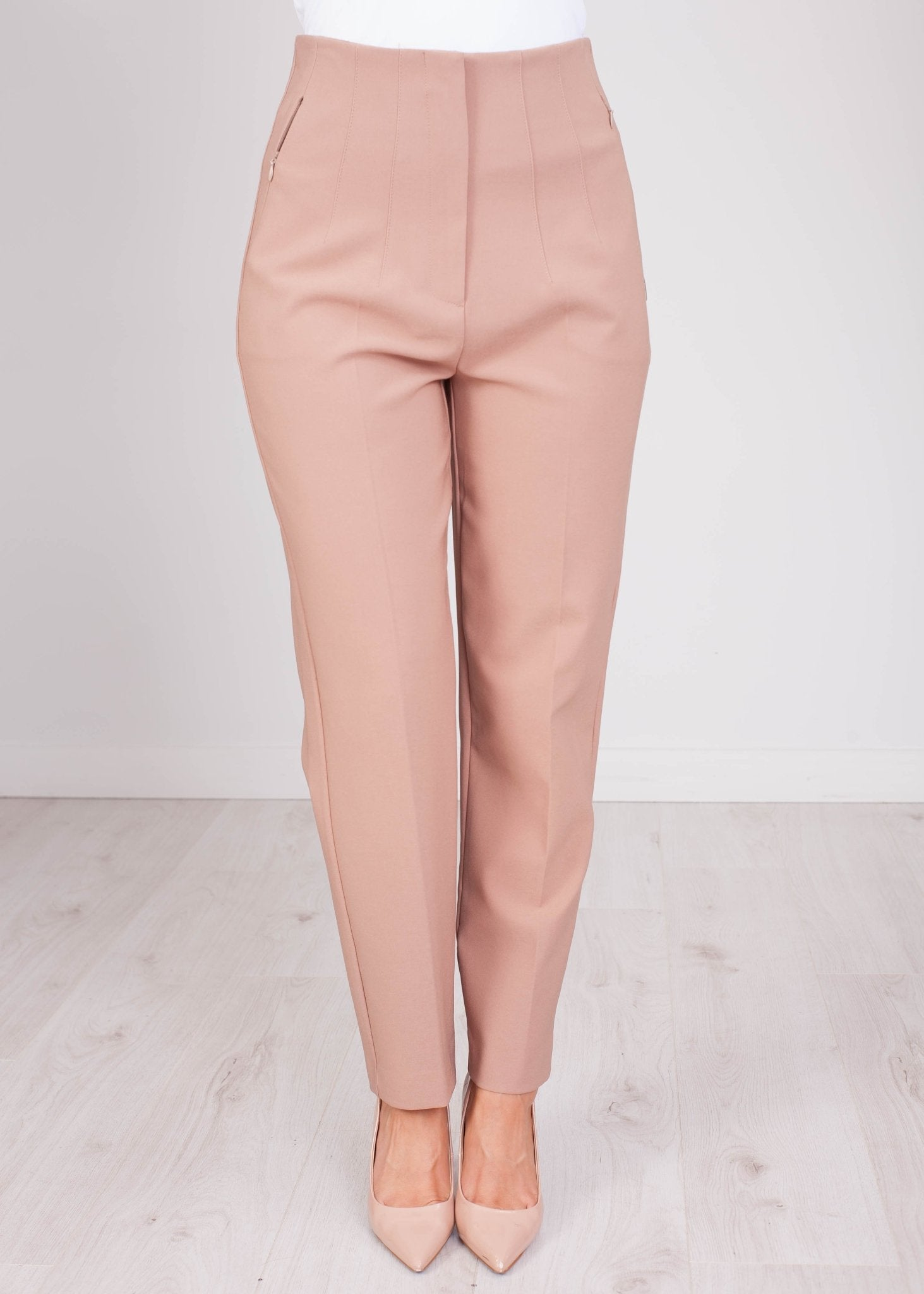 Eva Tan Tailored Trouser - The Walk in Wardrobe