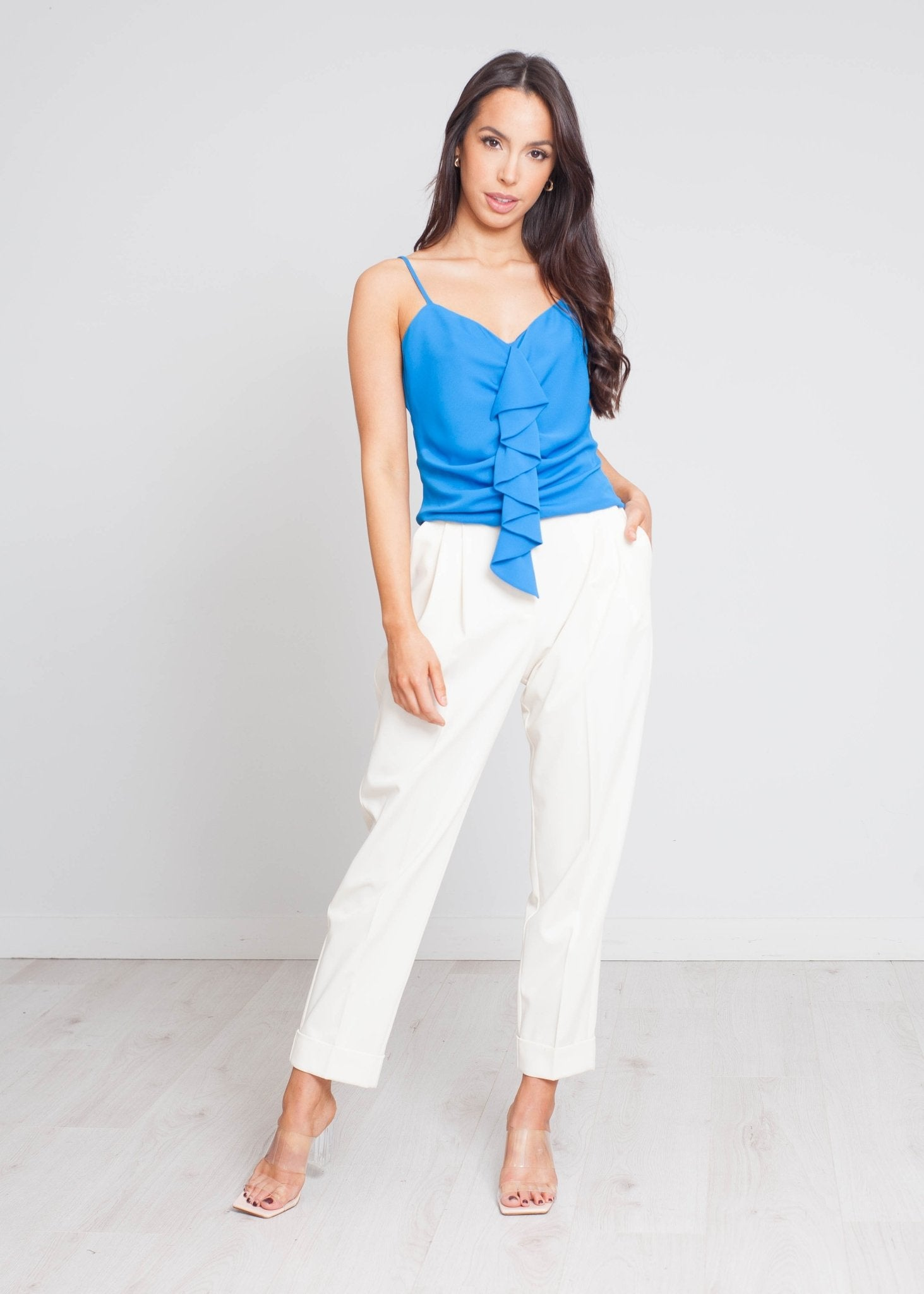 Eva Top In Royal Blue - The Walk in Wardrobe