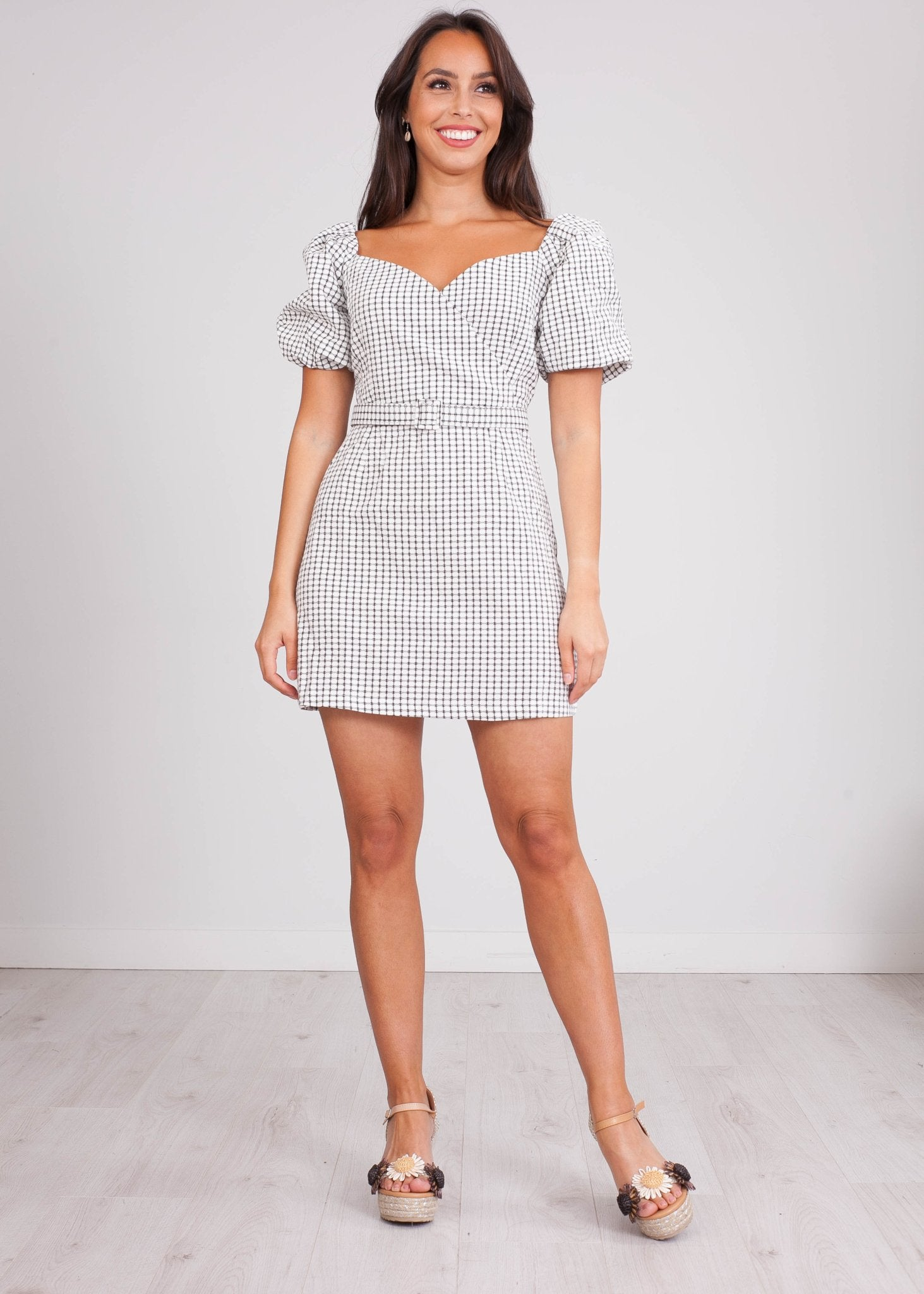 FiFi Black & White Dress - The Walk in Wardrobe