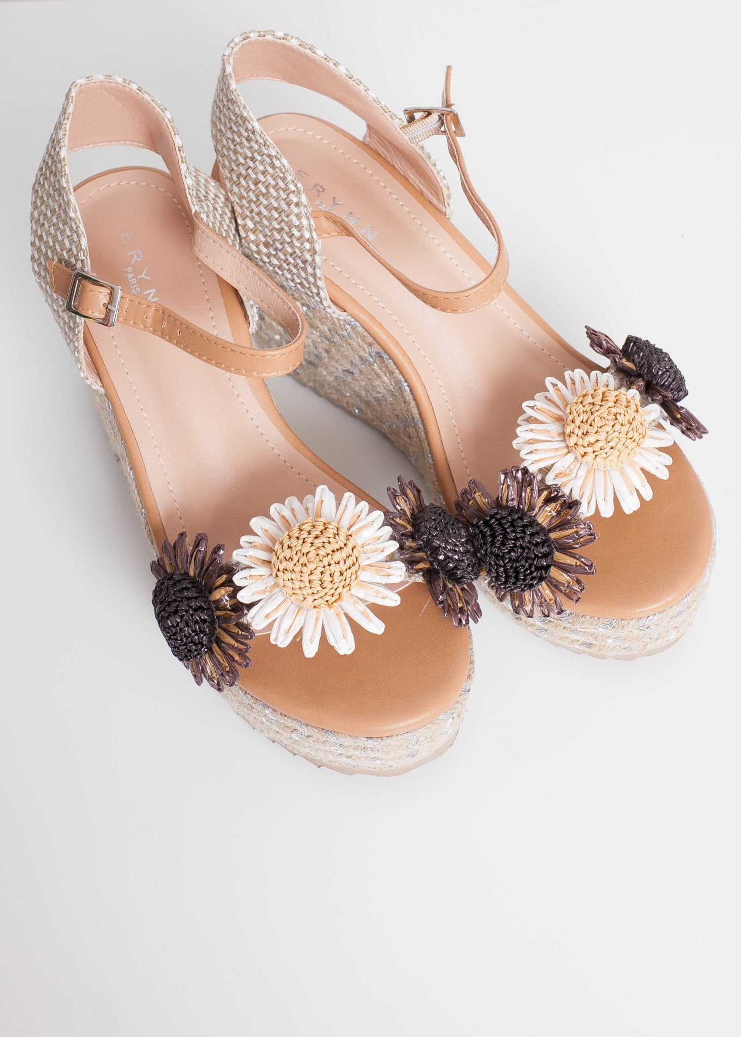 FiFi Flower Wedges - The Walk in Wardrobe