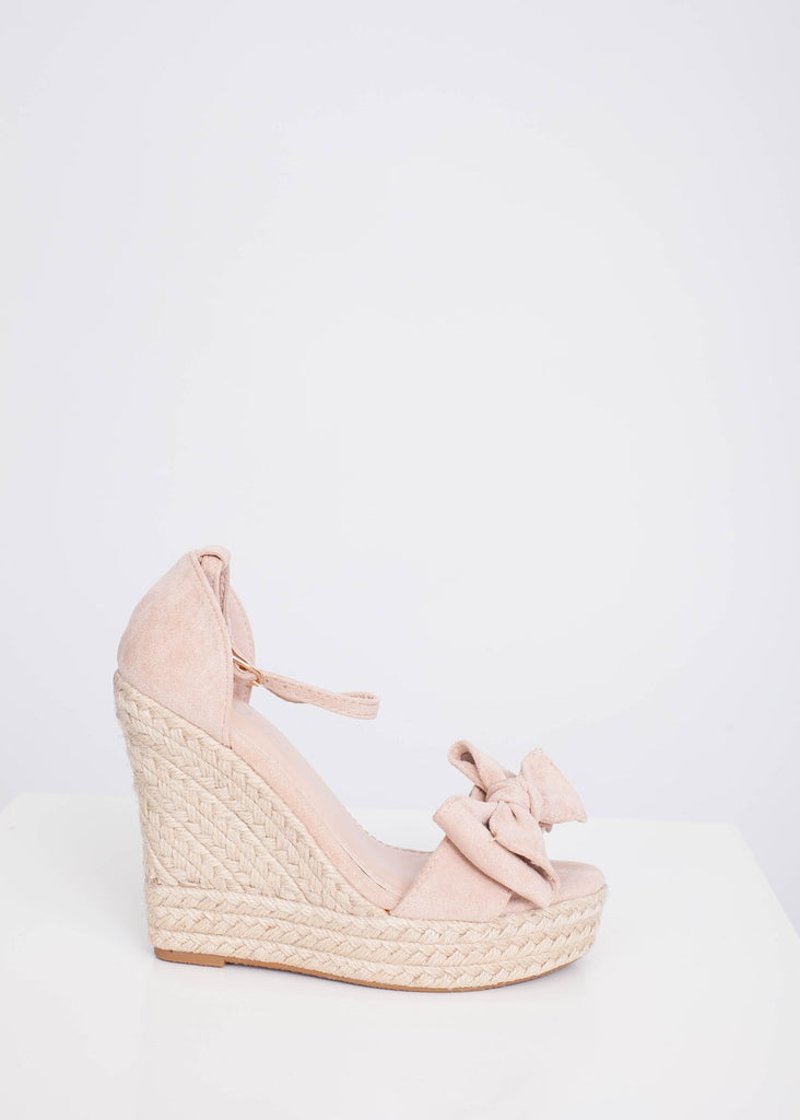 FiFi Pink Wedges - The Walk in Wardrobe