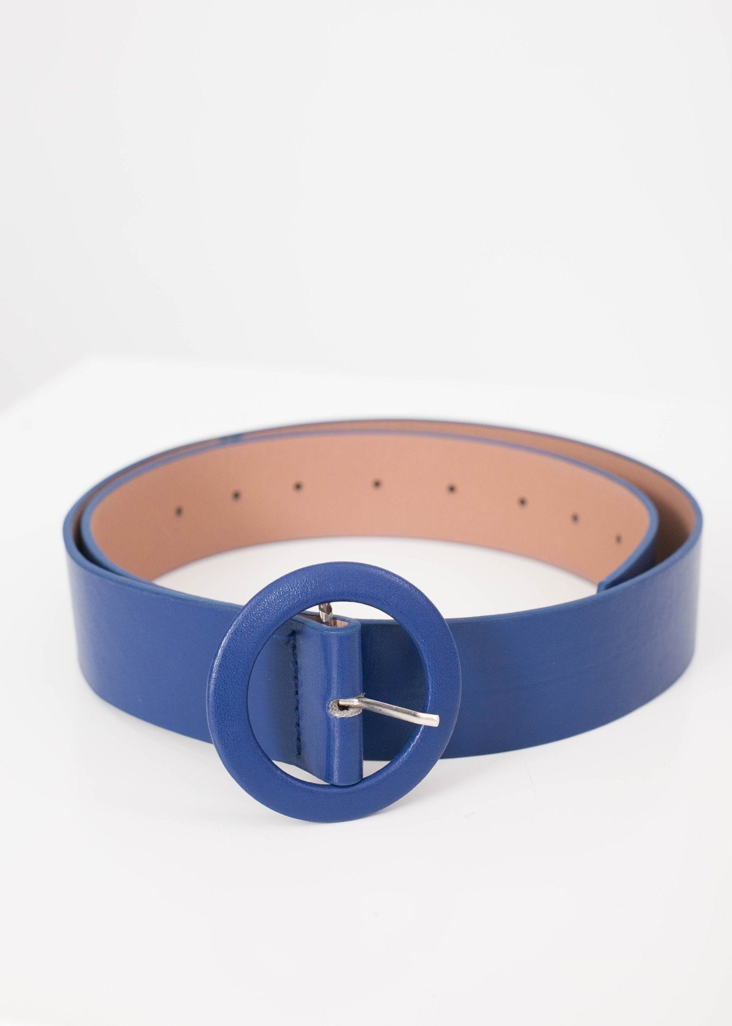 Frankie Blue Belt - The Walk in Wardrobe