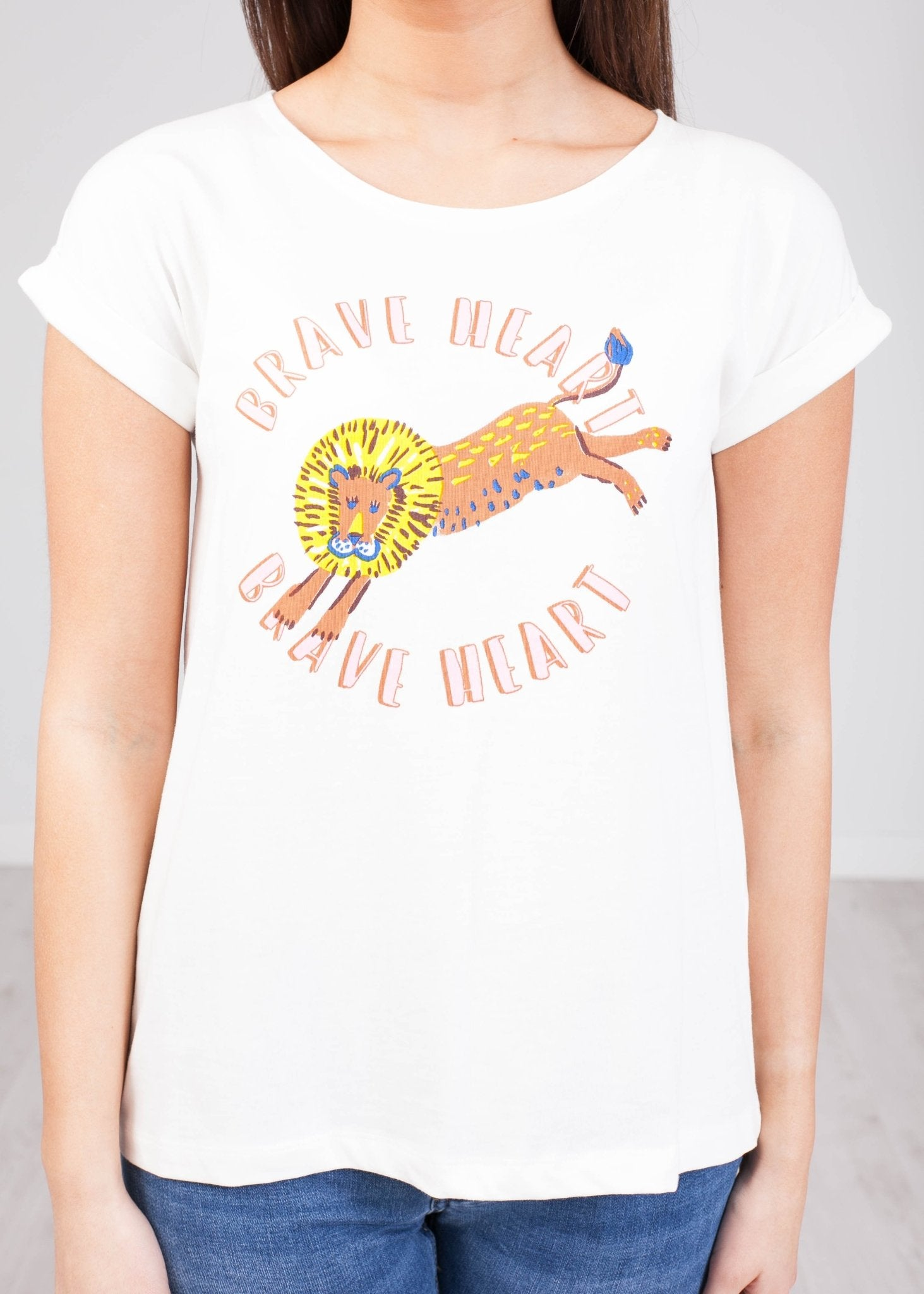 Frankie 'Brave Heart' T-Shirt - The Walk in Wardrobe