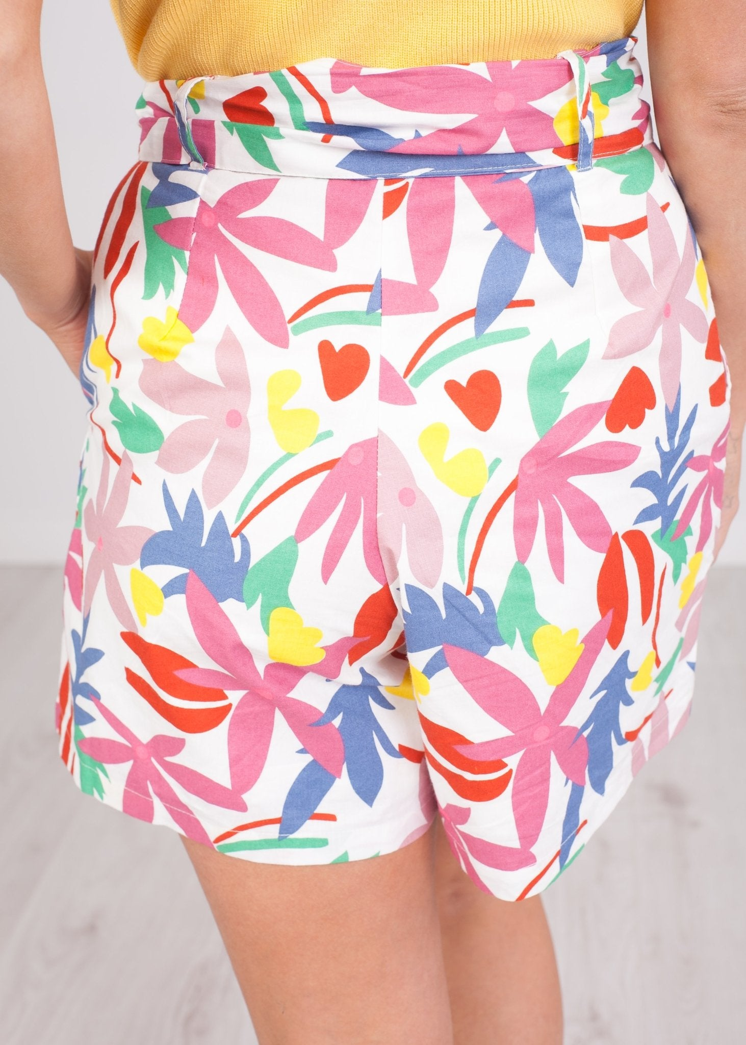 Frankie Floral Printed Shorts - The Walk in Wardrobe