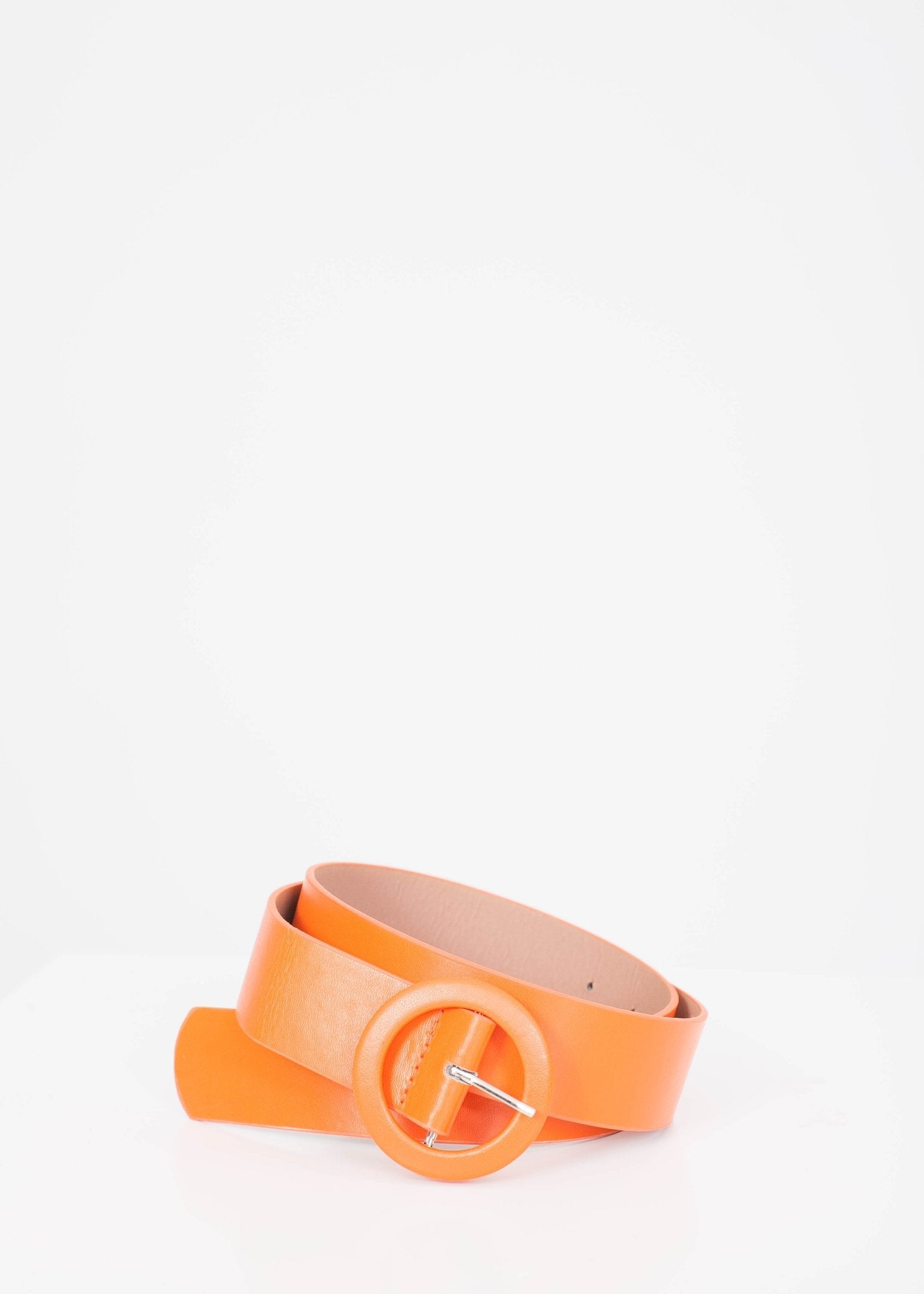 Frankie Orange Belt - The Walk in Wardrobe
