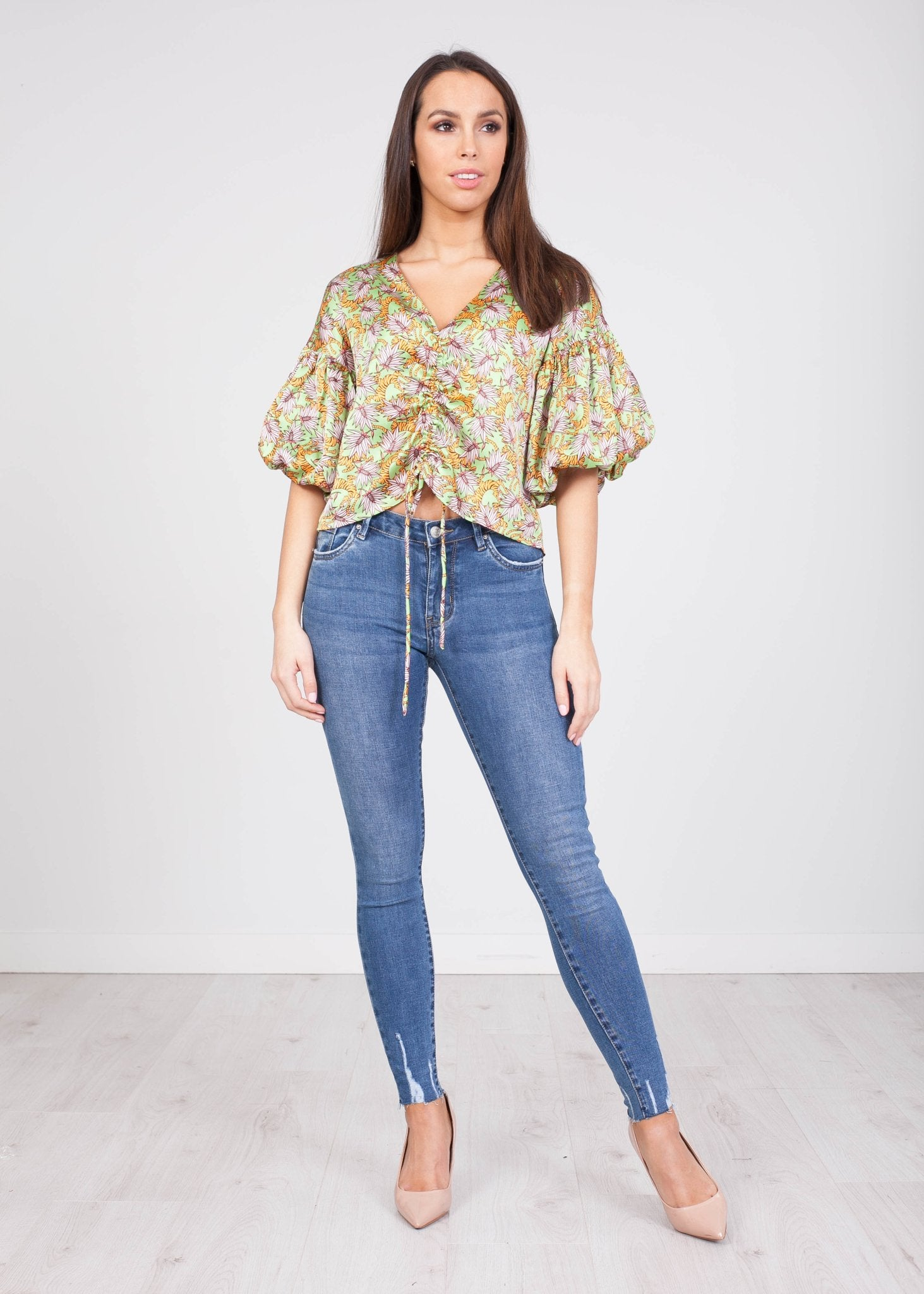 Frankie Puff Sleeve Top - The Walk in Wardrobe