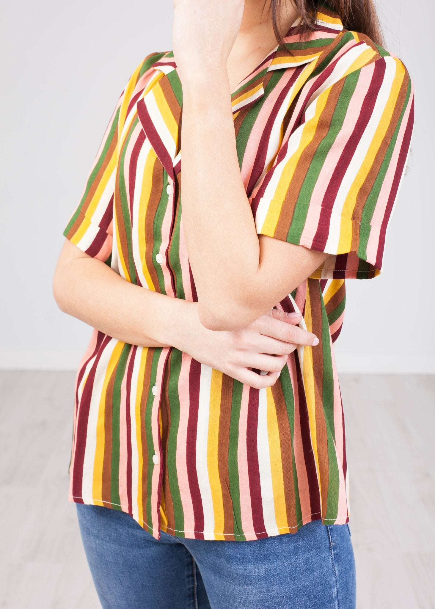 Frankie Stripe Shirt - The Walk in Wardrobe