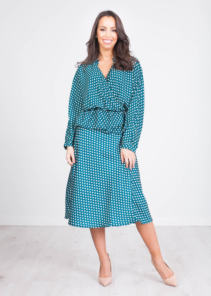 Gia Polka Dot Two Piece - The Walk in Wardrobe