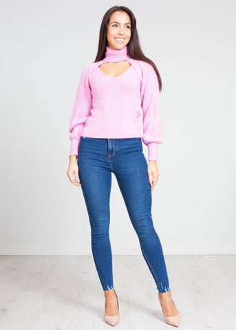 Indie Two Piece Knit in Rose Pink - The Walk in Wardrobe
