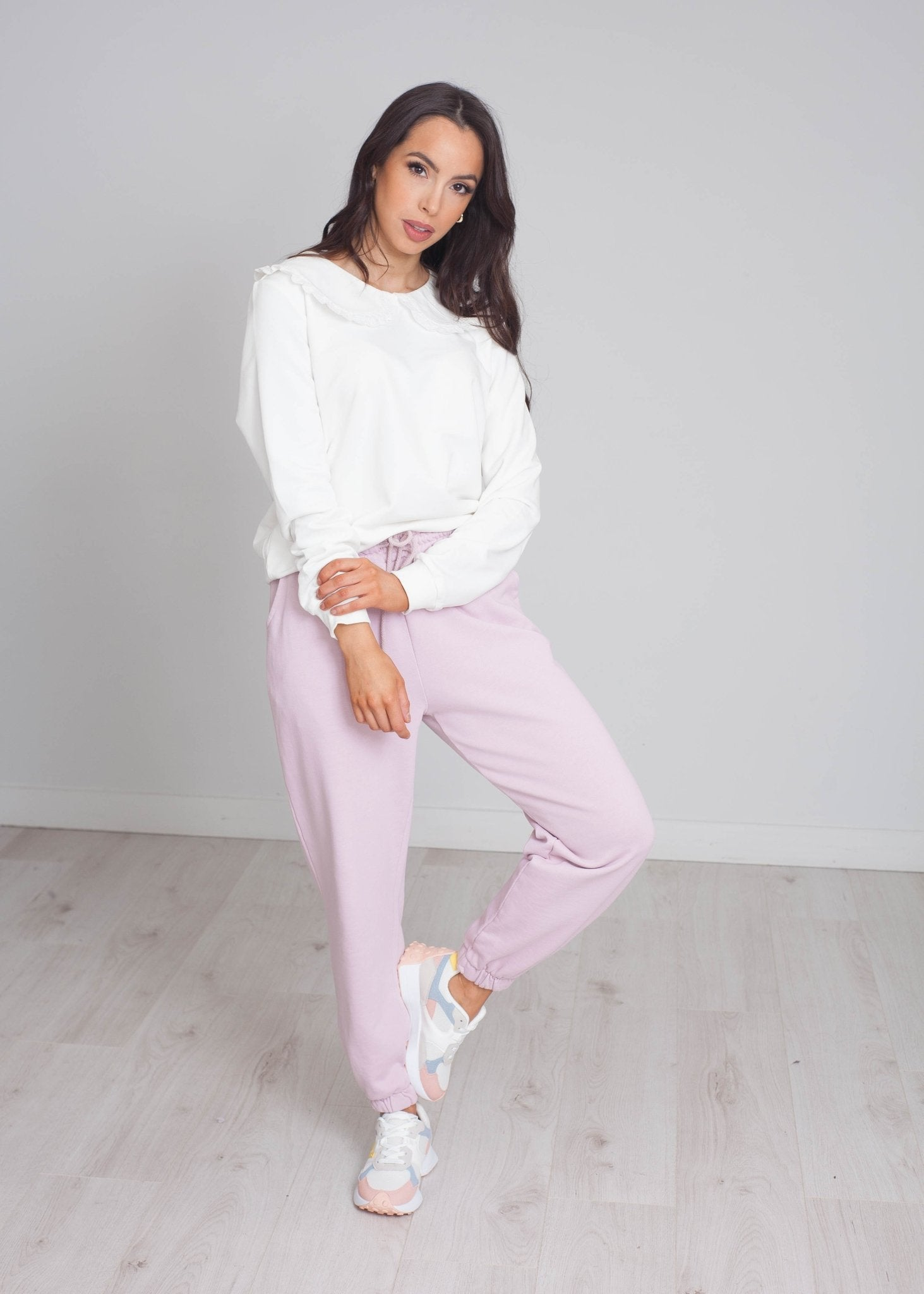 Laura Joggers In Blush - The Walk in Wardrobe