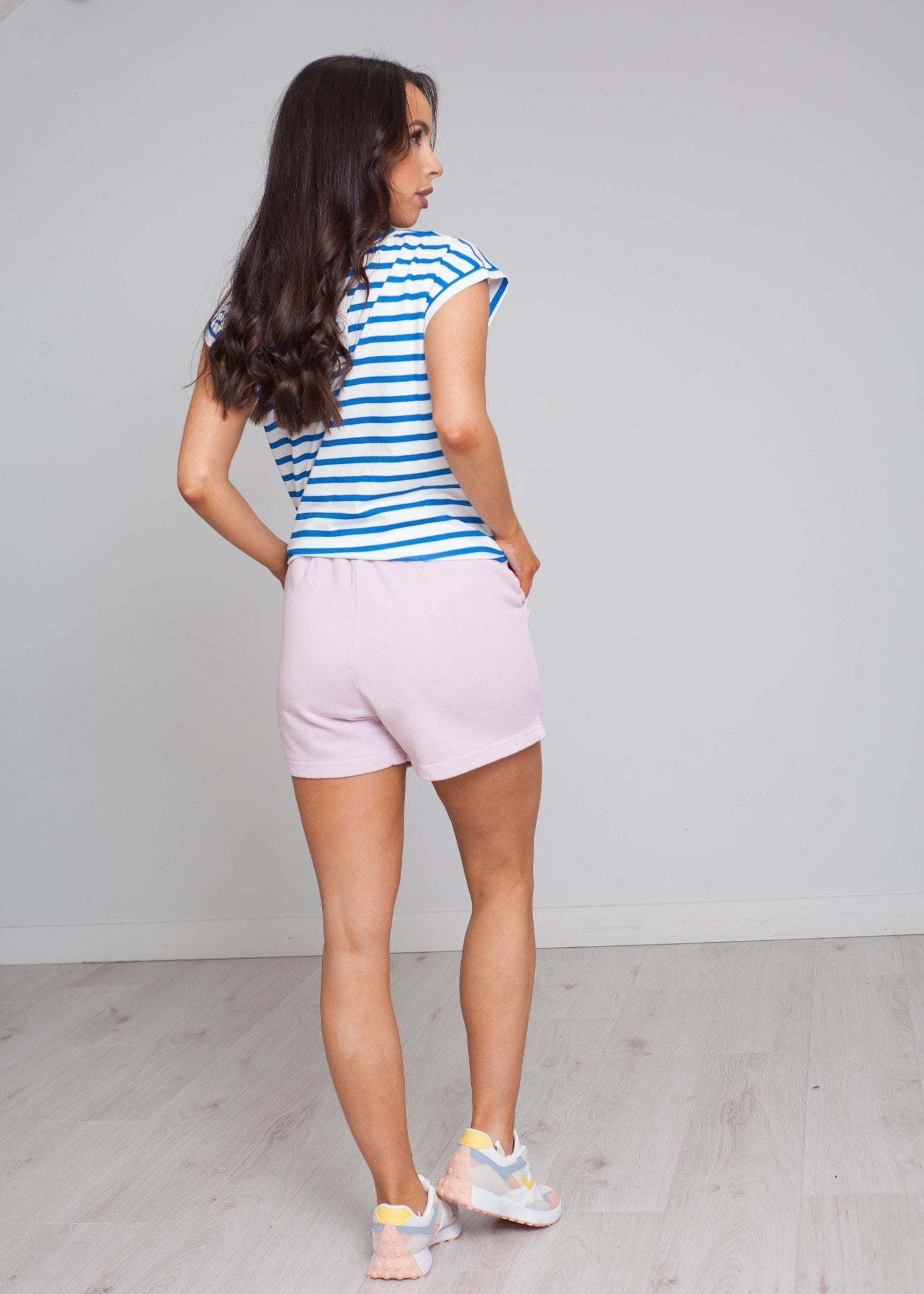 Laura Shorts In Blush - The Walk in Wardrobe