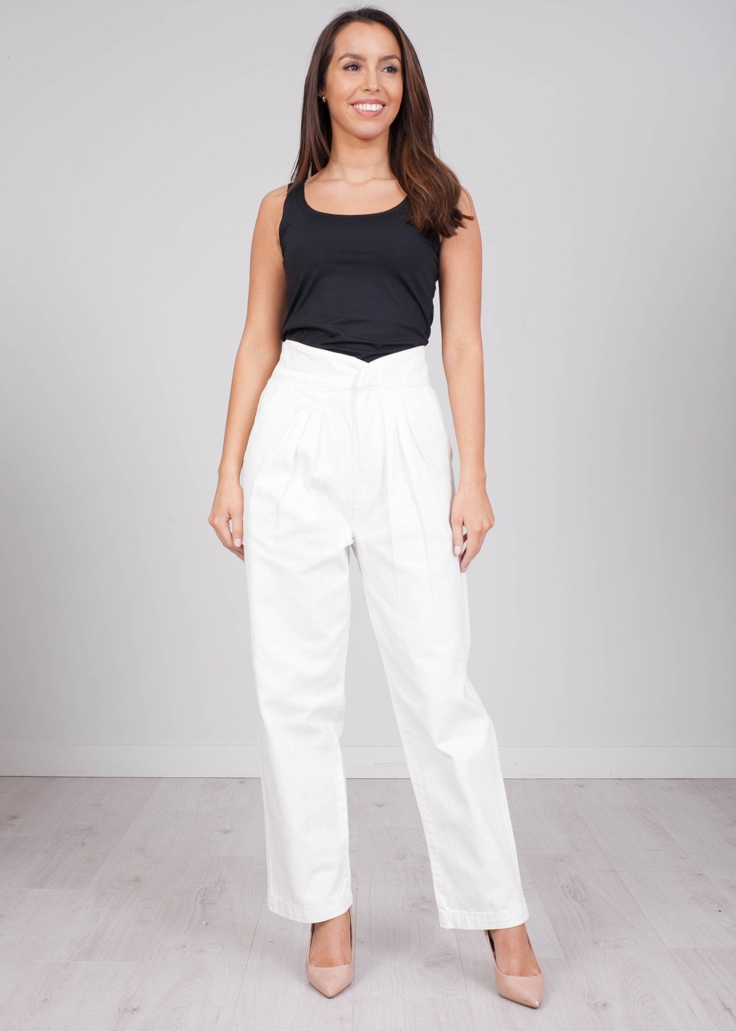 Maisy White Jeans - The Walk in Wardrobe