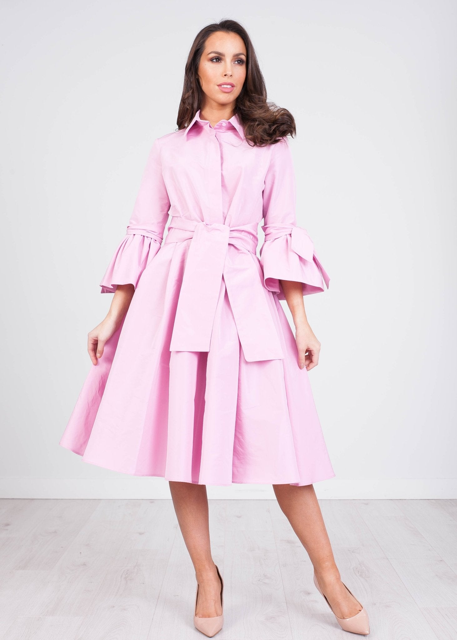 Marissa Baby Pink Dress - The Walk in Wardrobe
