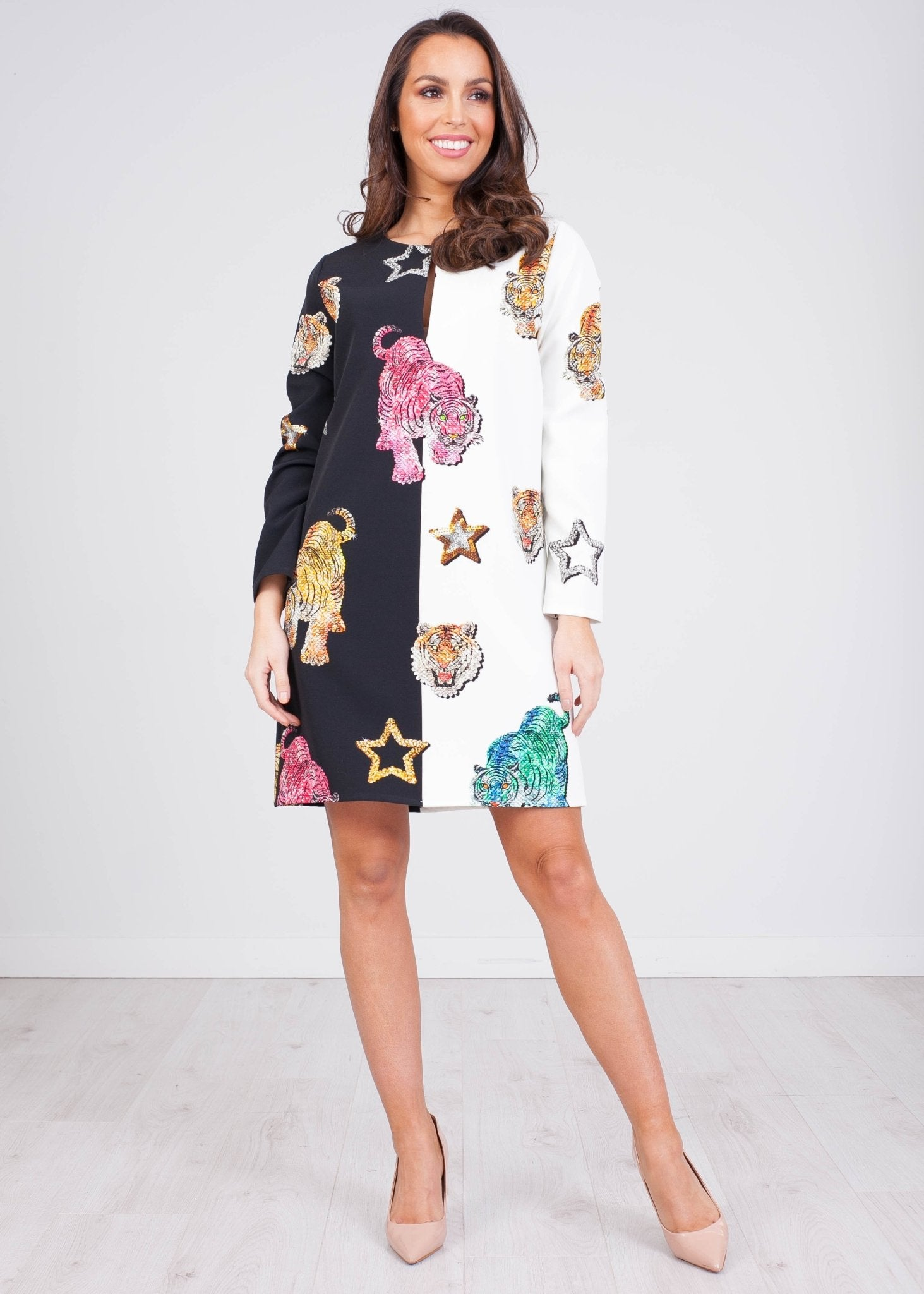 Marissa Multiprint Dress - The Walk in Wardrobe