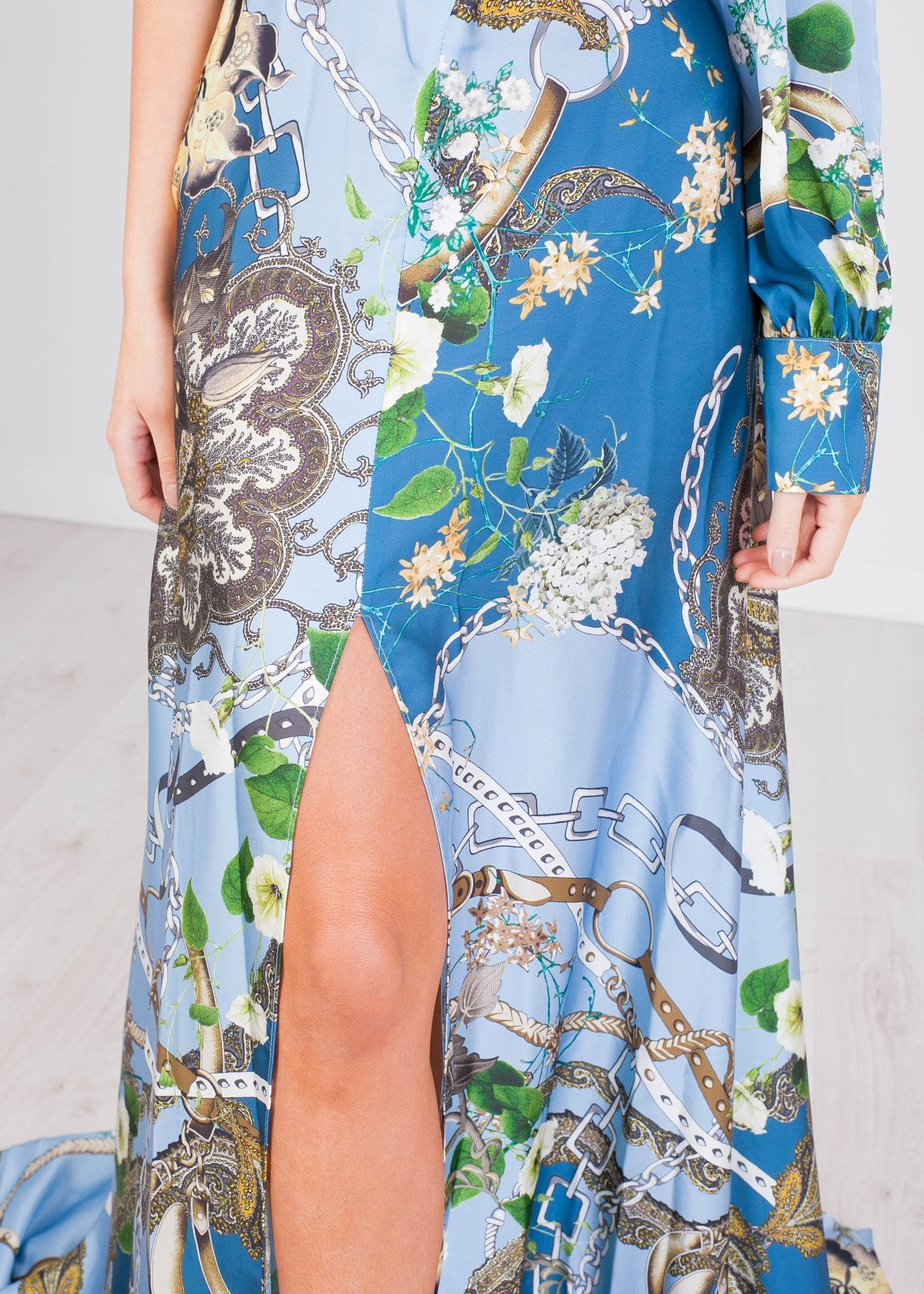 Matilda Printed Maxi Dress - The Walk in Wardrobe
