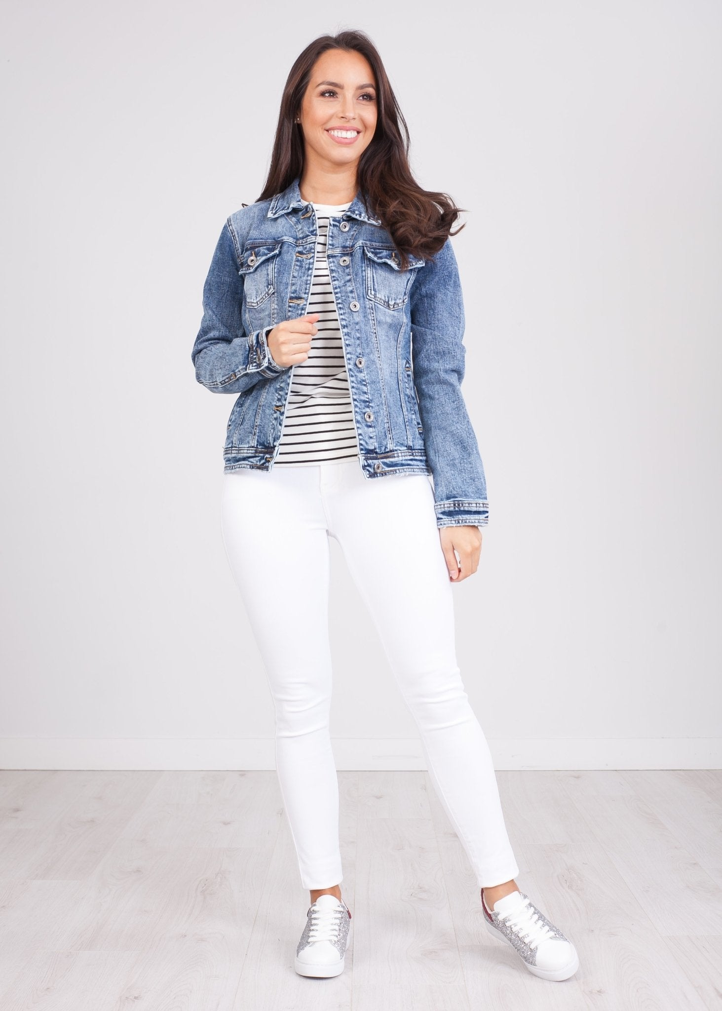 Mia Denim Jacket - The Walk in Wardrobe