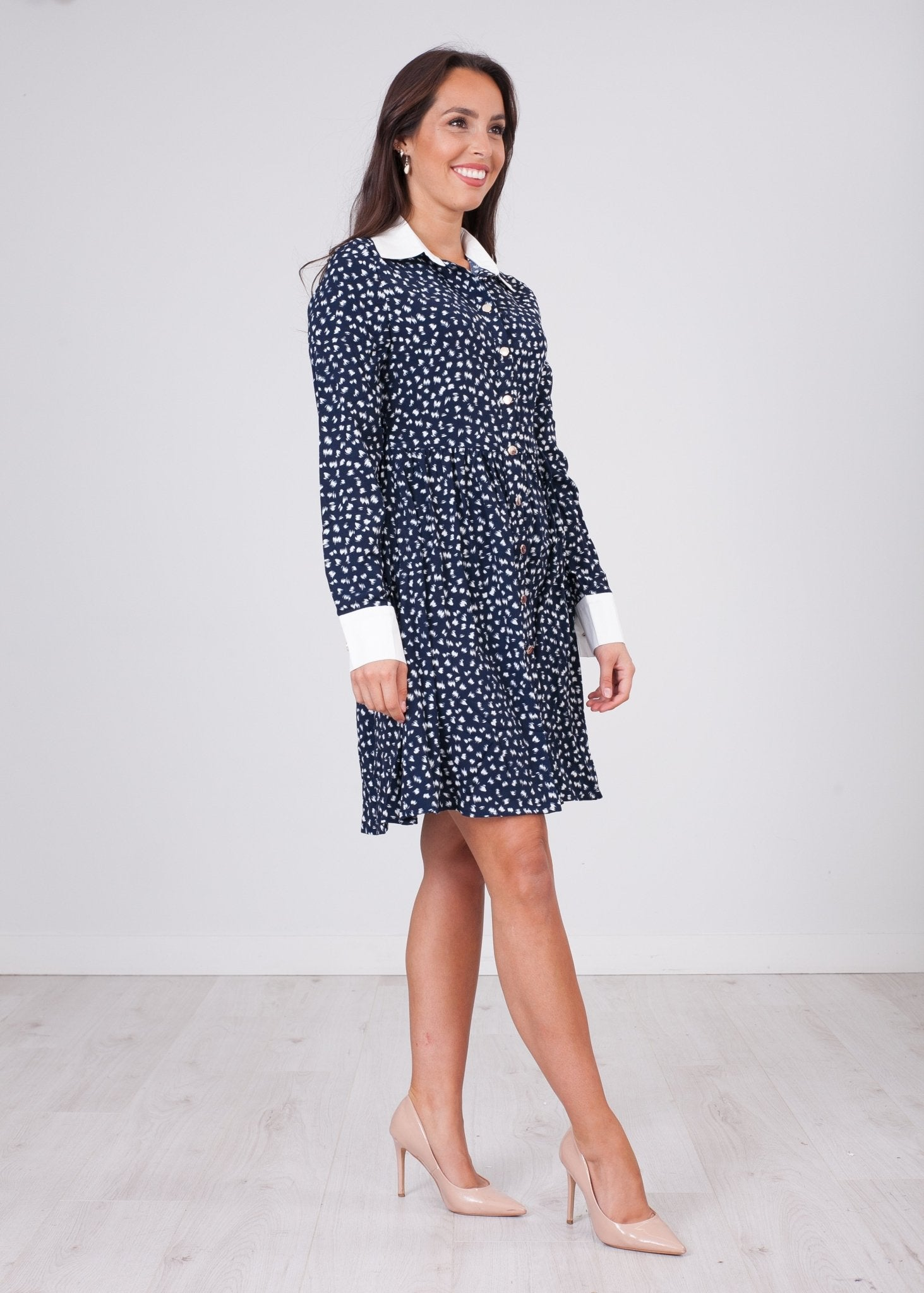 Nora Collar Dress - The Walk in Wardrobe