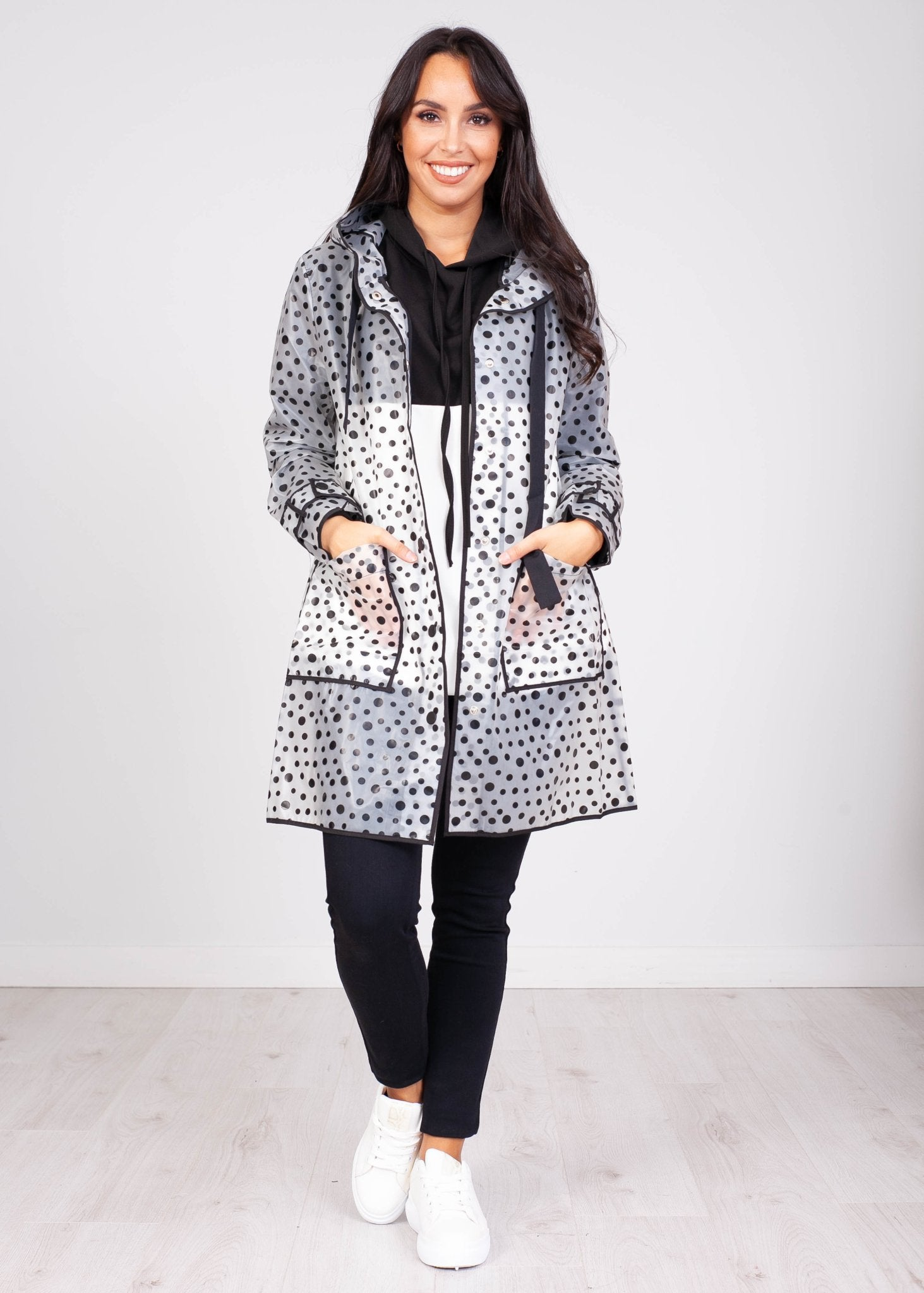 Priya Polka Dot Raincoat - The Walk in Wardrobe
