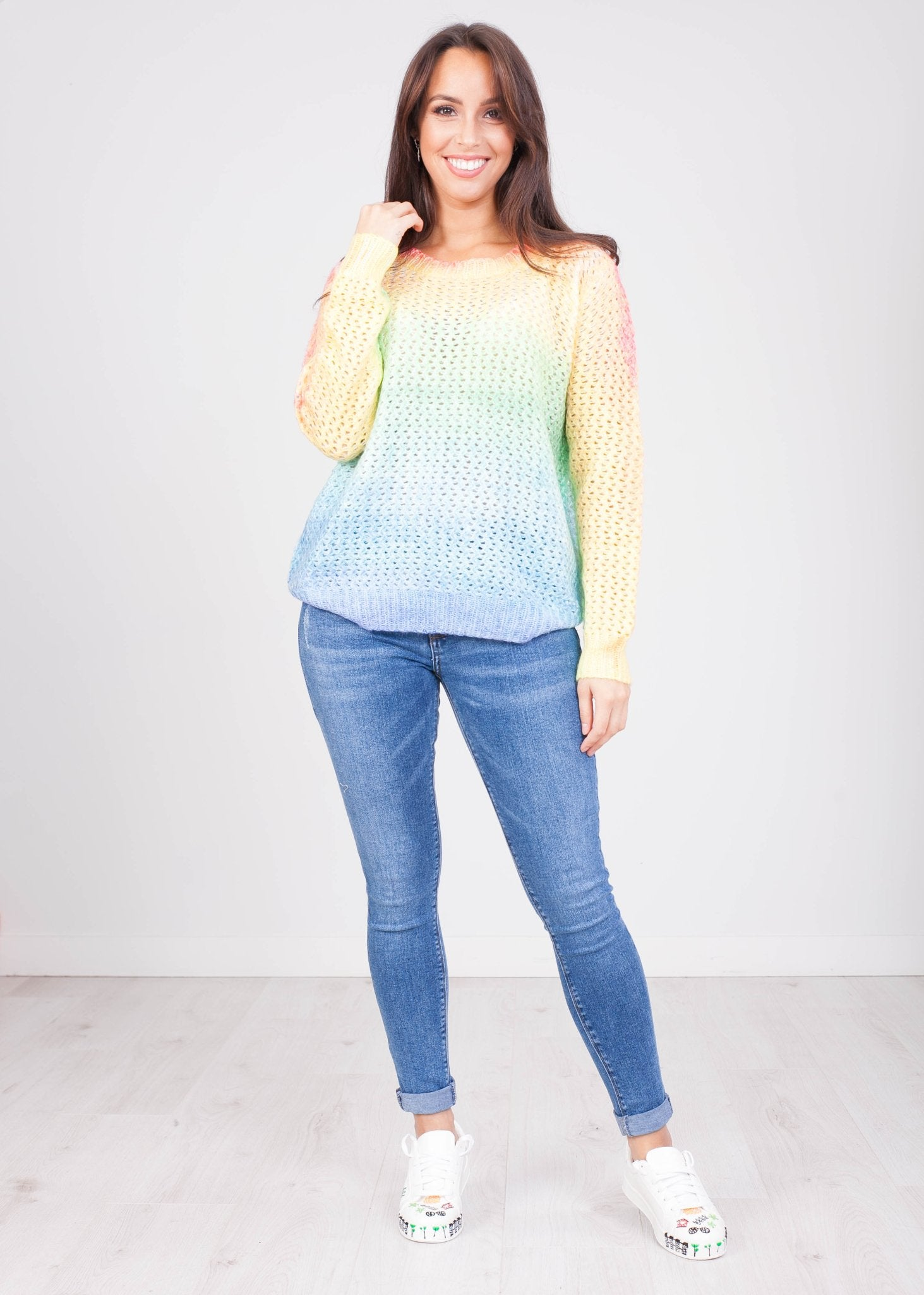 Priya Rainbow Knit - The Walk in Wardrobe