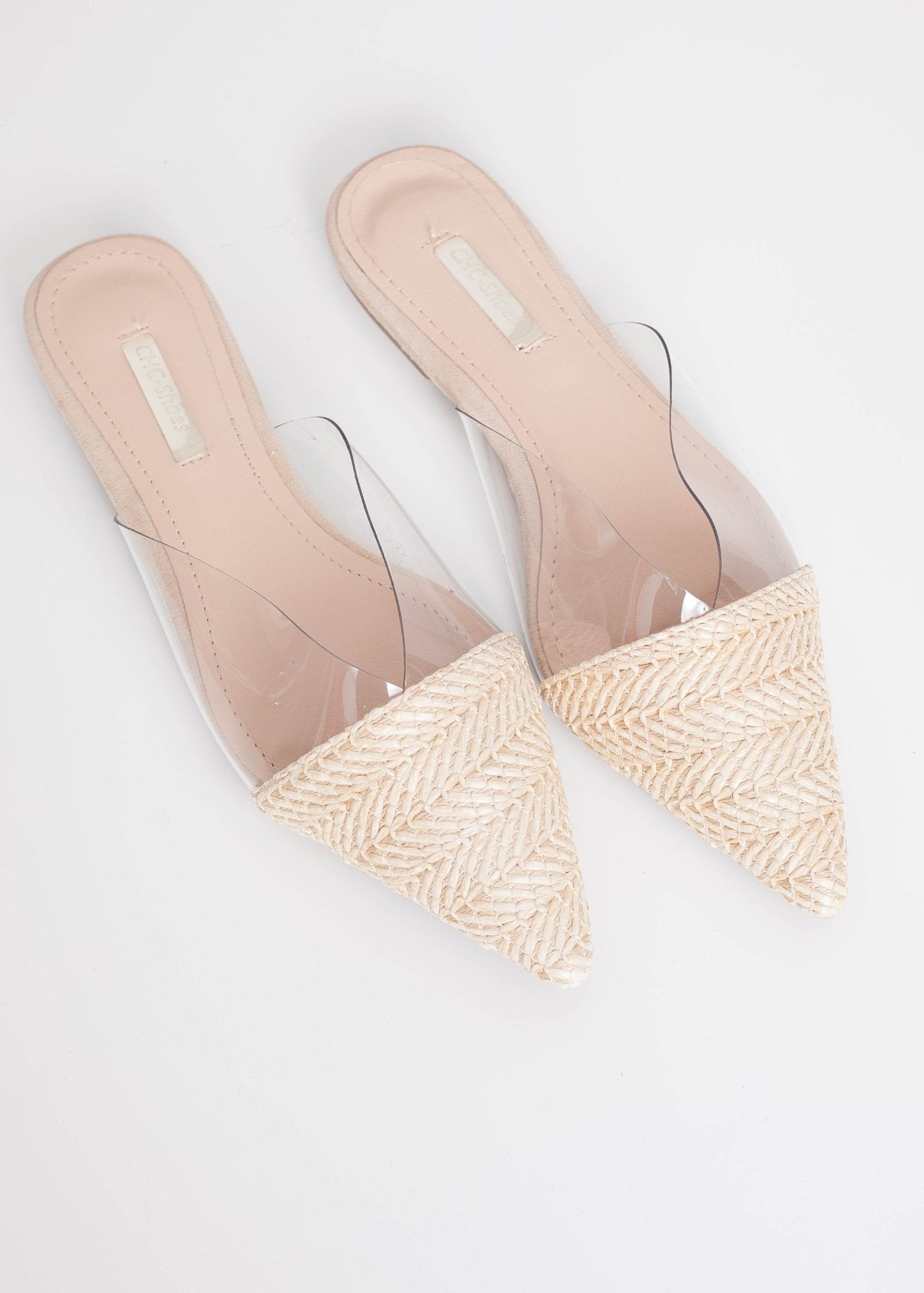 Priya Straw Mules - The Walk in Wardrobe