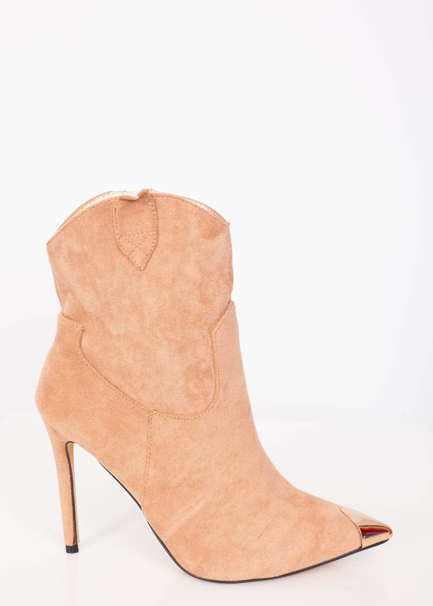 Priya Suede Heel Boots - The Walk in Wardrobe