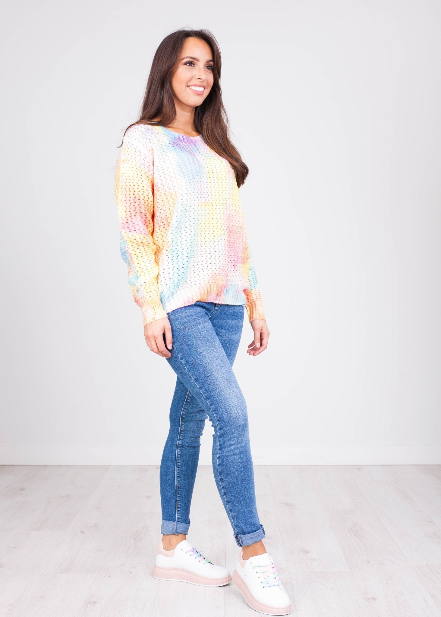 Priya Tie Dye Knit - The Walk in Wardrobe