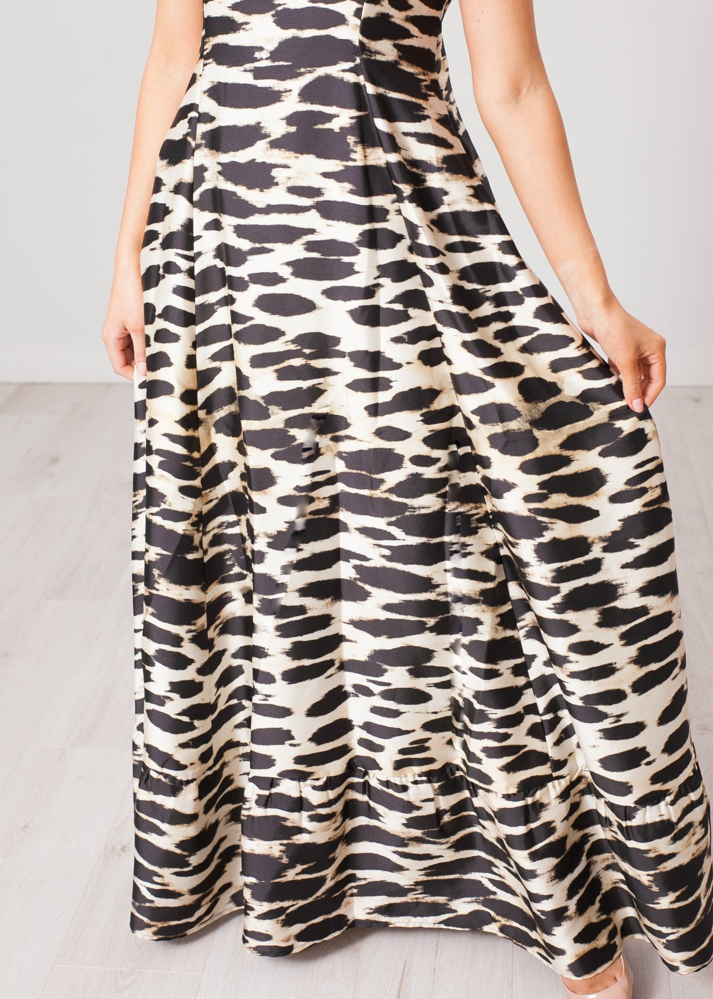 Rita Animal Print Dress - The Walk in Wardrobe