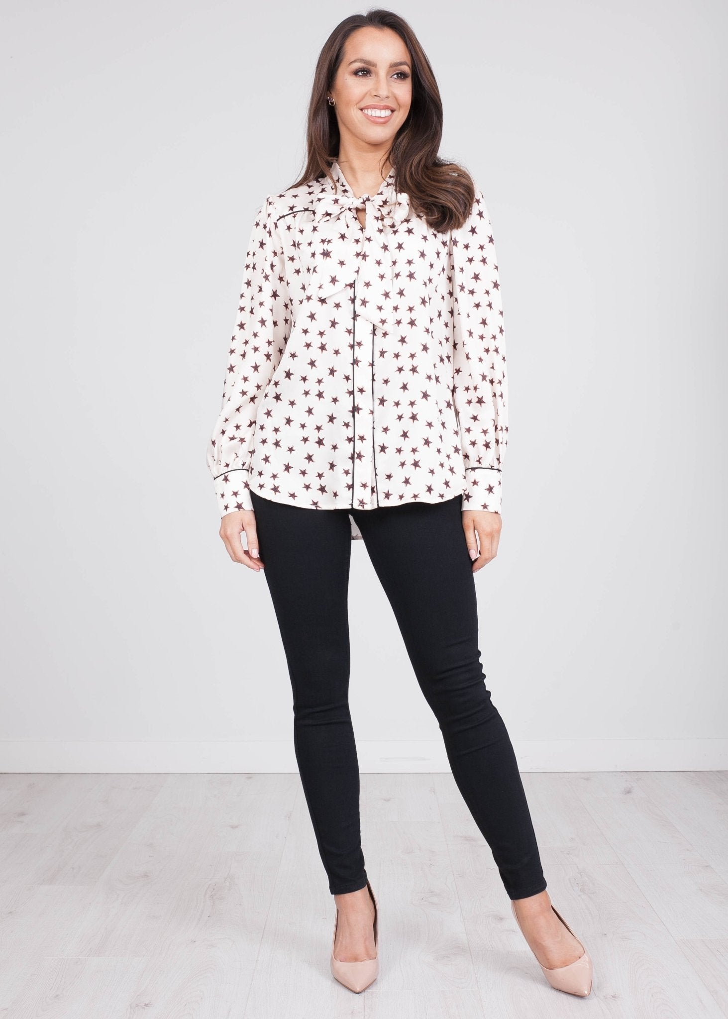 Rita Star Long Sleeve Blouse - The Walk in Wardrobe