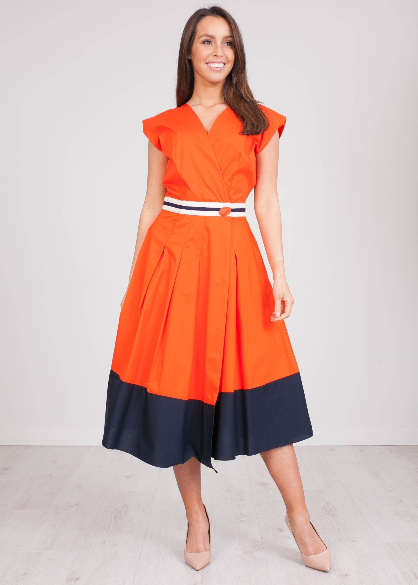 Savannah Block Colour Dress - The Walk in Wardrobe