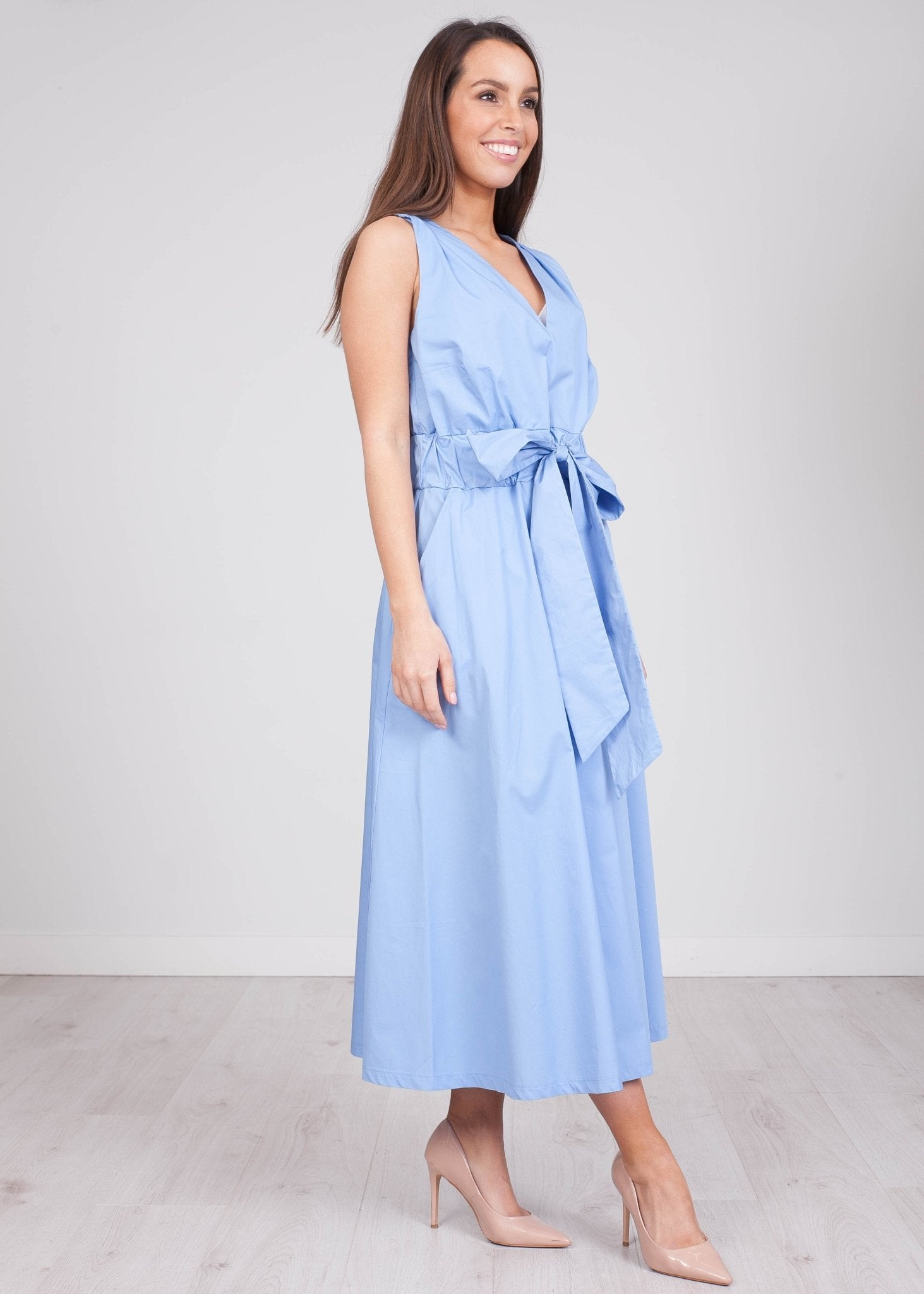 Savannah Blue Dress - The Walk in Wardrobe