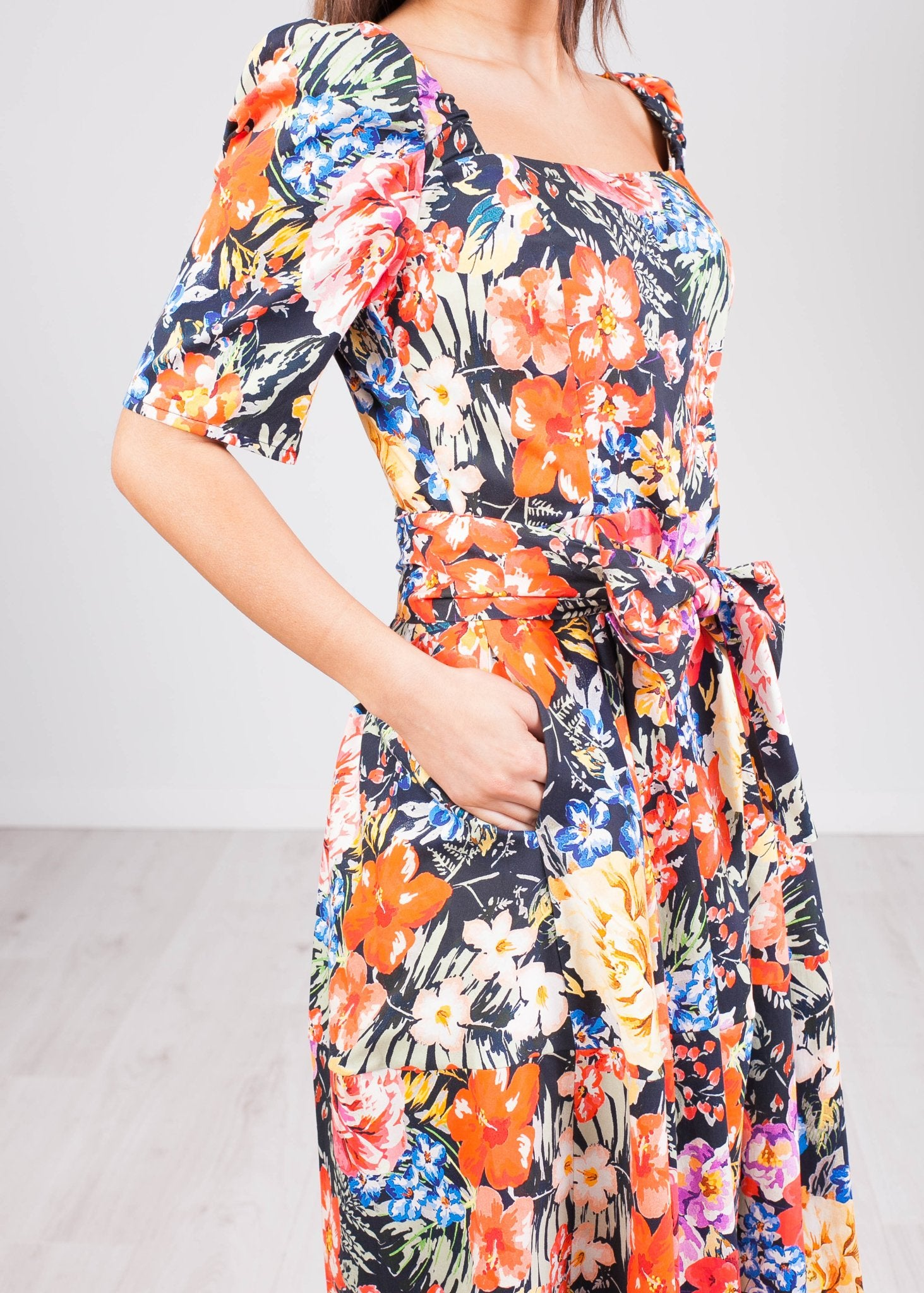 Savannah Floral Dress - The Walk in Wardrobe
