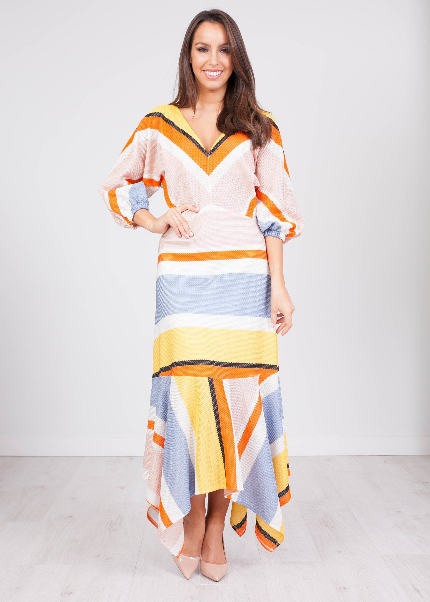 Savannah Multiprint Dress - The Walk in Wardrobe