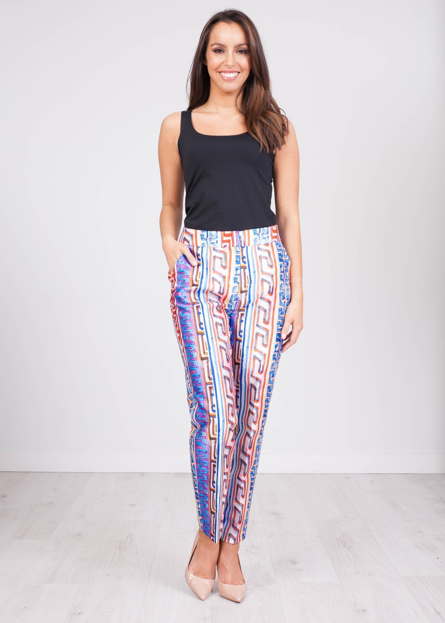 Savannah Multiprint Trousers - The Walk in Wardrobe