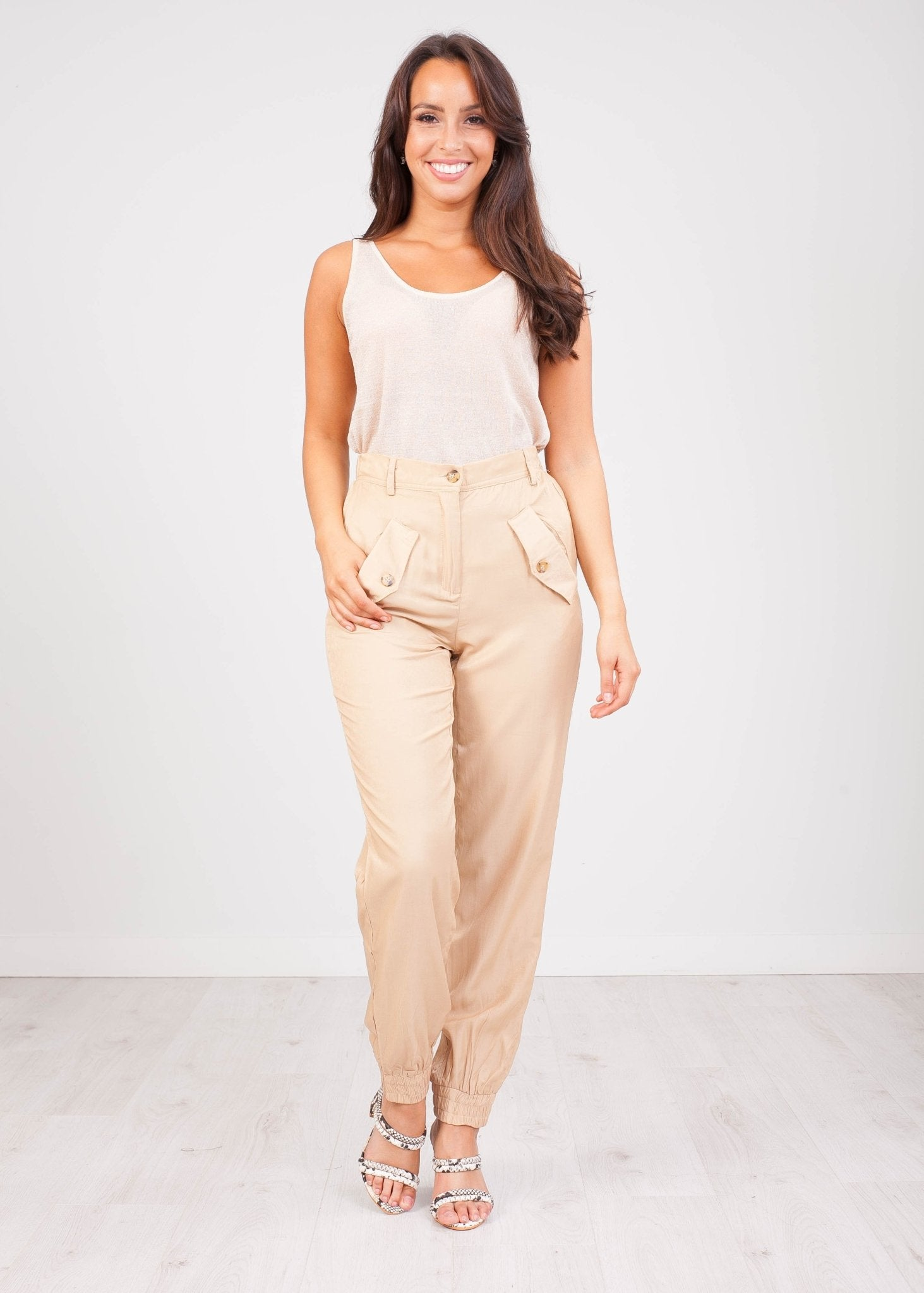 Sissy Sand Trousers - The Walk in Wardrobe