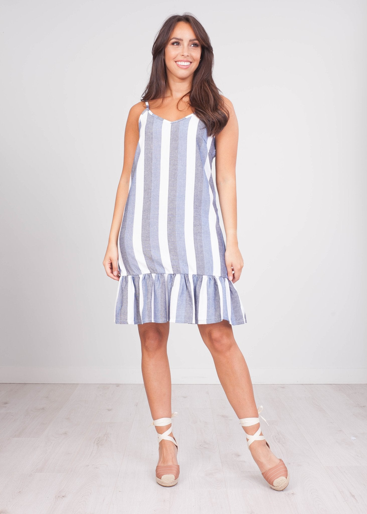 Sissy Stripe Dress - The Walk in Wardrobe