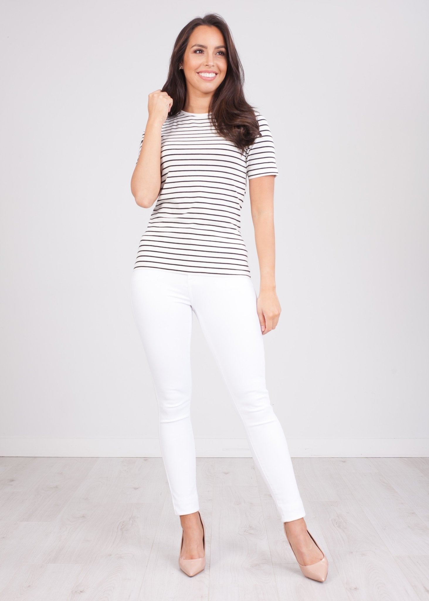 Sissy Stripe T-Shirt - The Walk in Wardrobe