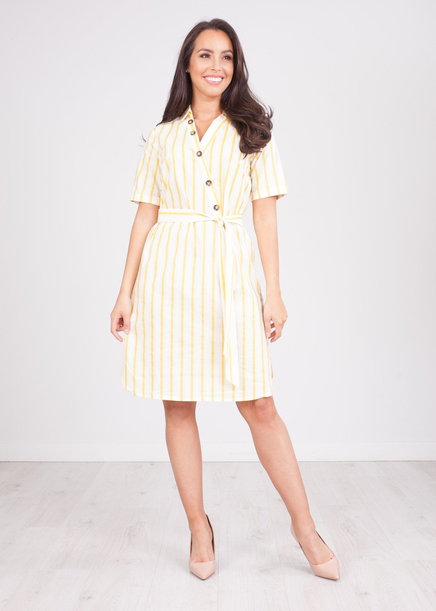 Sissy Yellow Stripe Dress - The Walk in Wardrobe