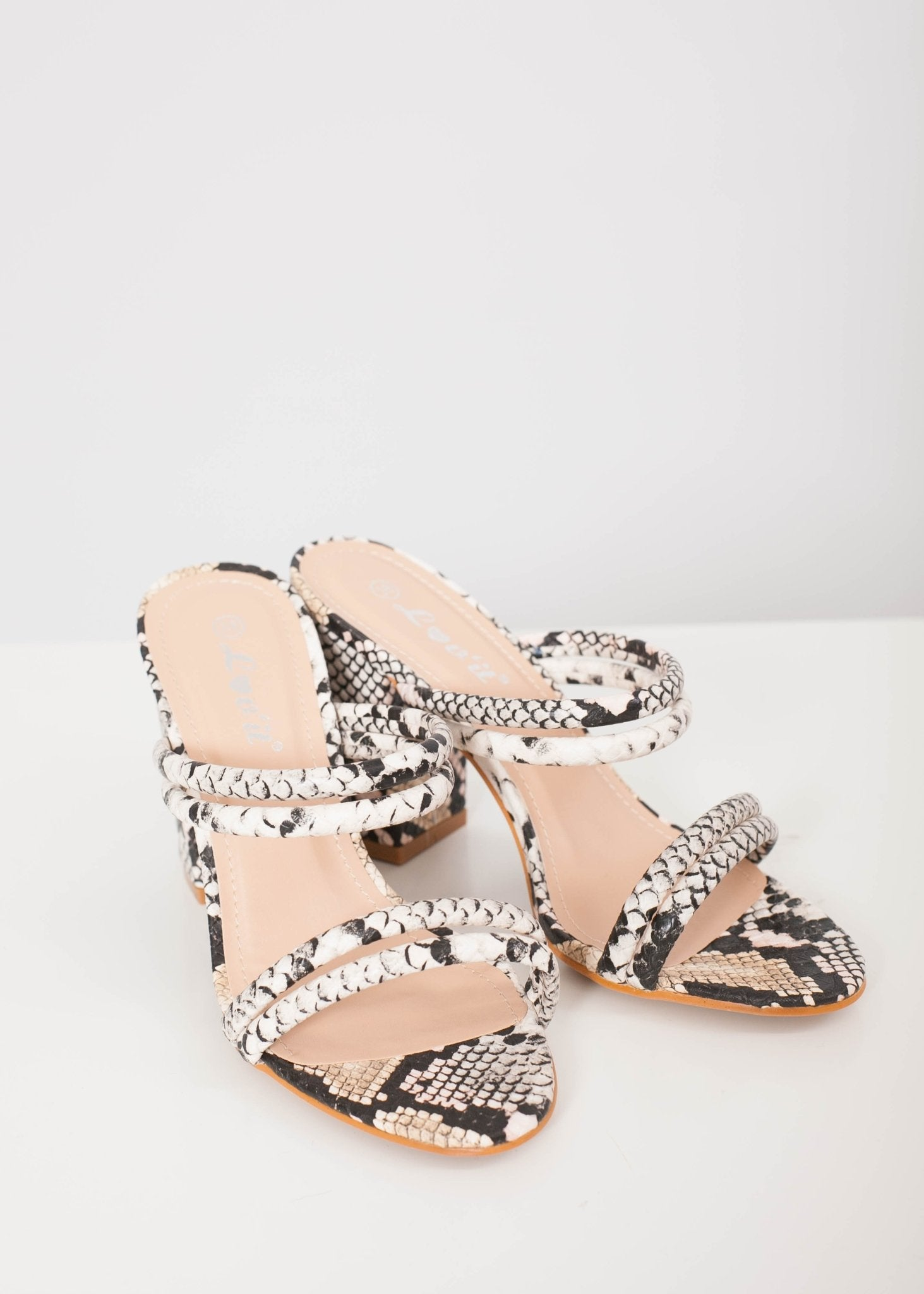 Snake Print Mules - The Walk in Wardrobe