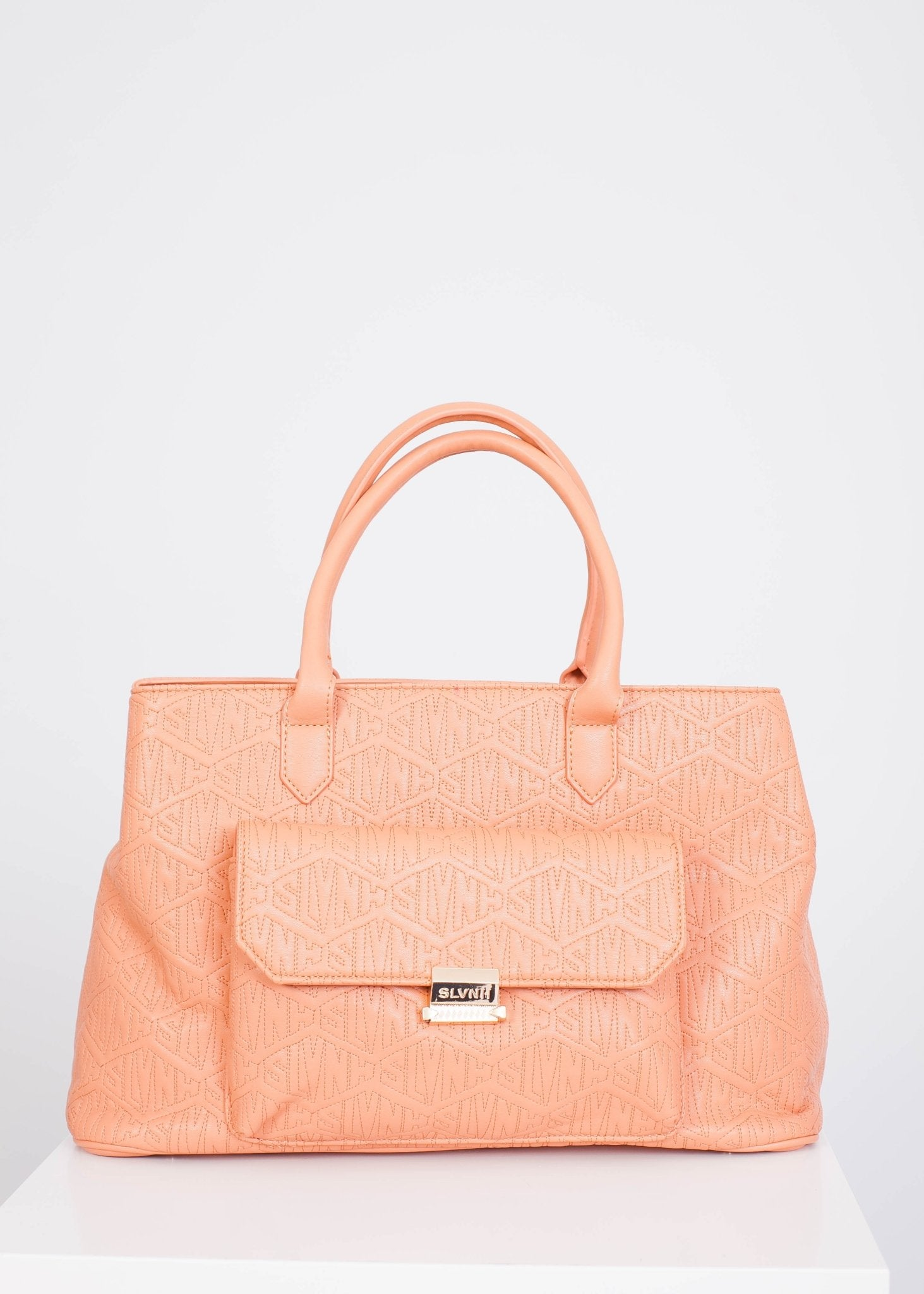 Sophia Peach Handbag - The Walk in Wardrobe