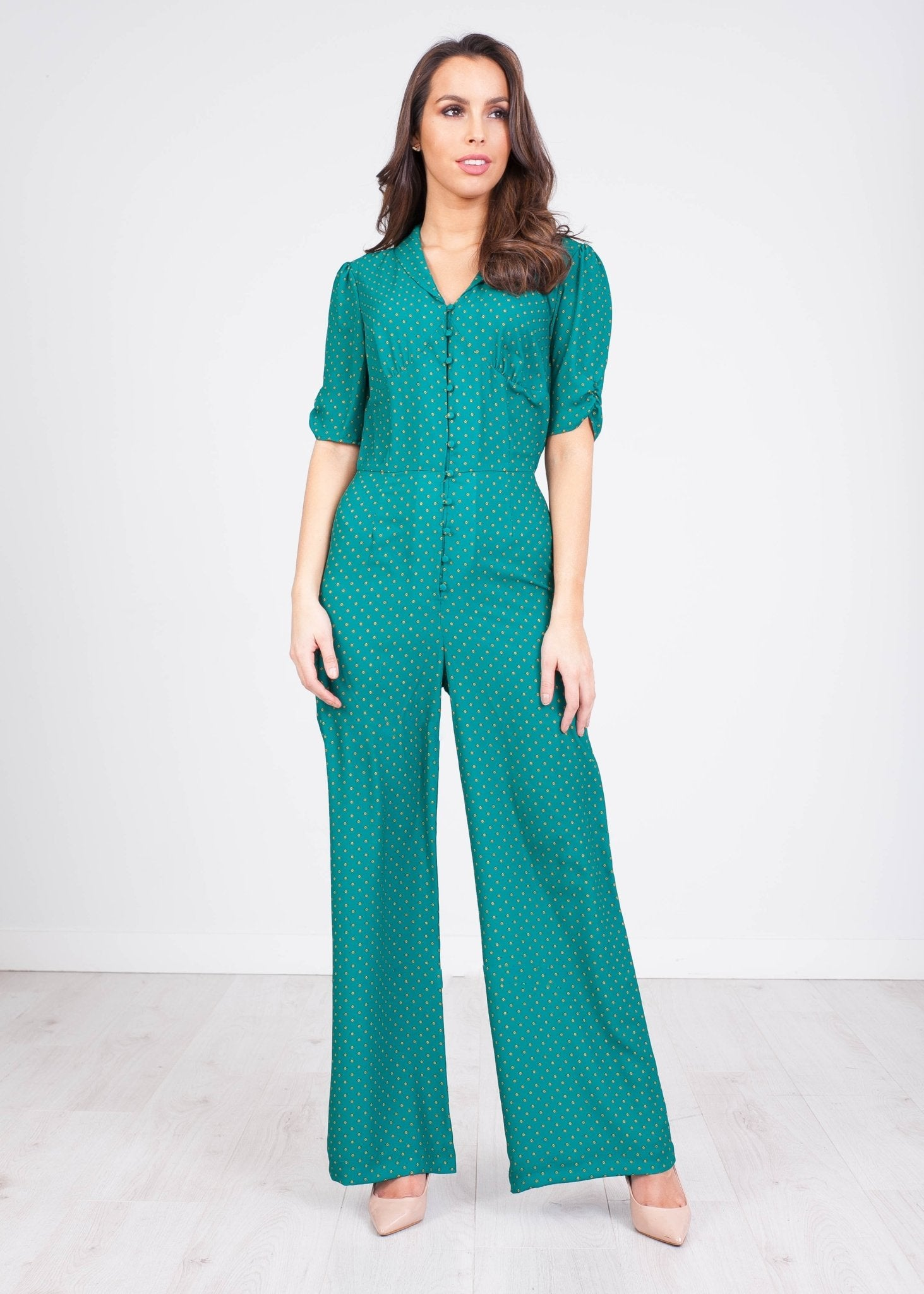Sophia Printed Jumpsuit - The Walk in Wardrobe