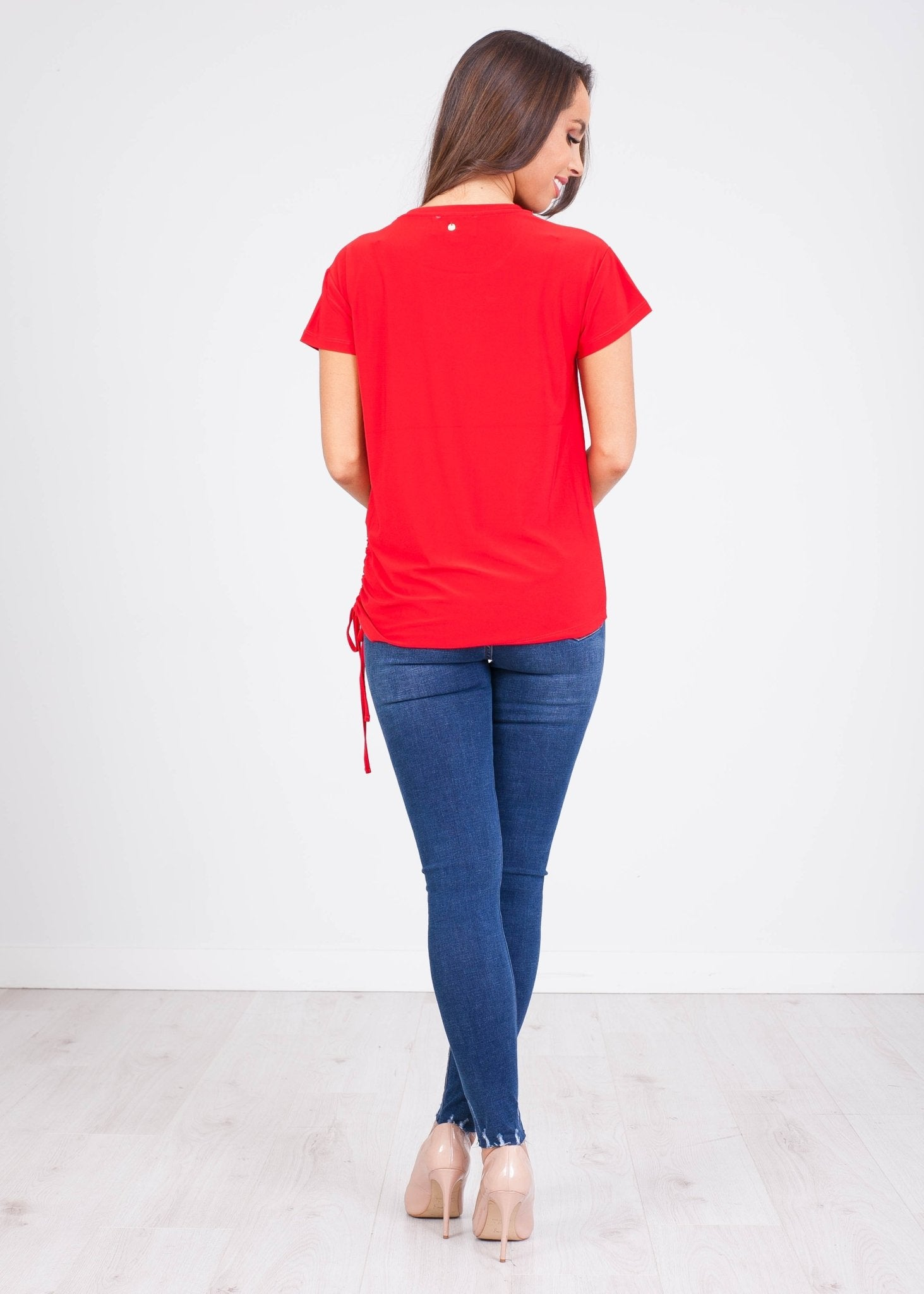 Sophia Red T-Shirt - The Walk in Wardrobe