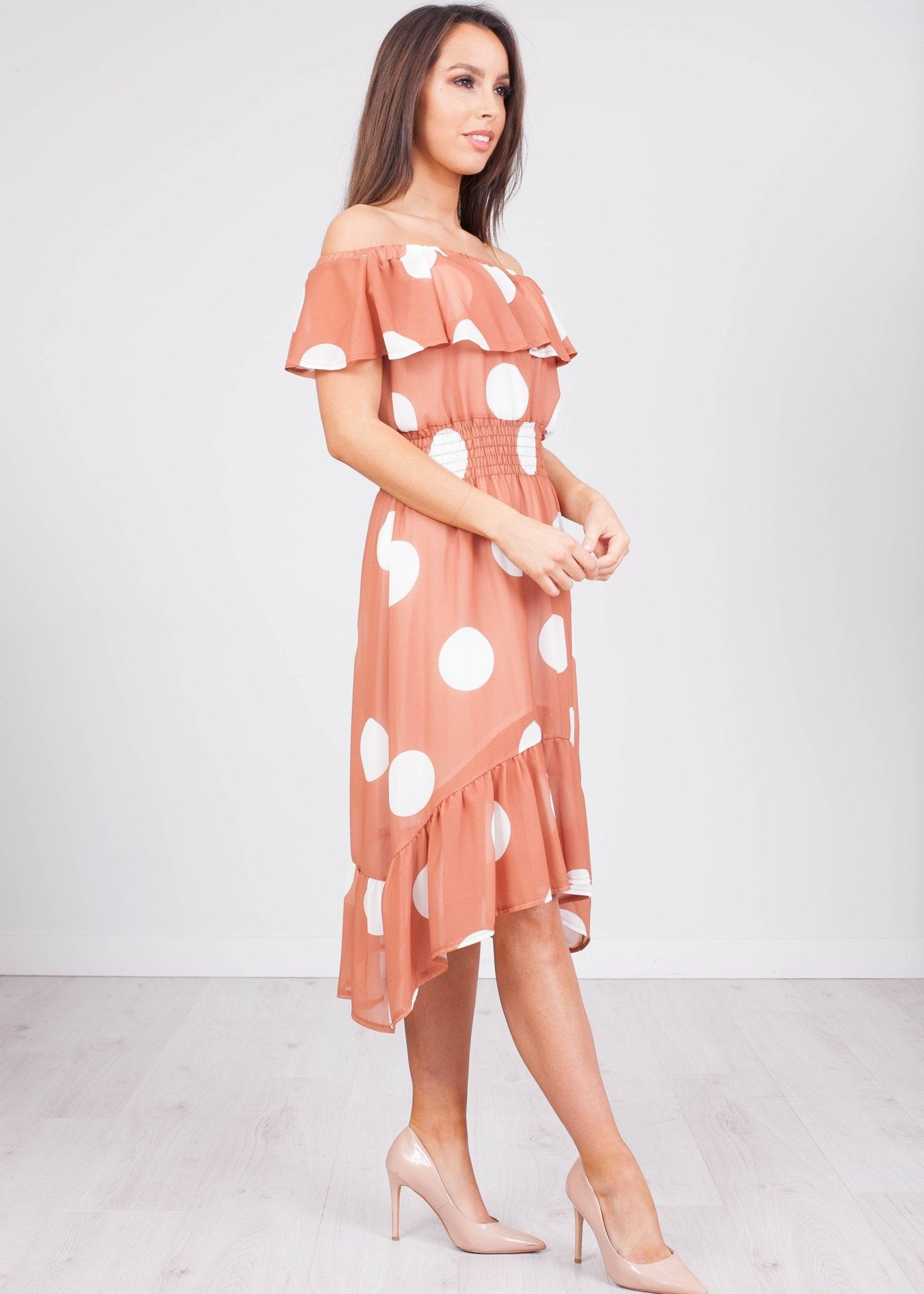 Tina Spotty Dress - The Walk in Wardrobe