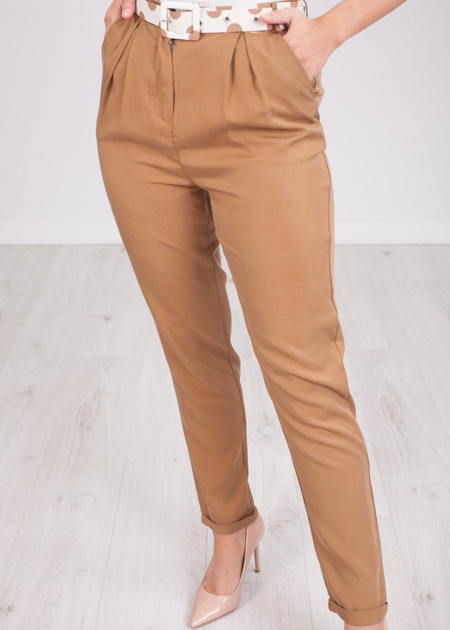 Tina Tan Trousers - The Walk in Wardrobe