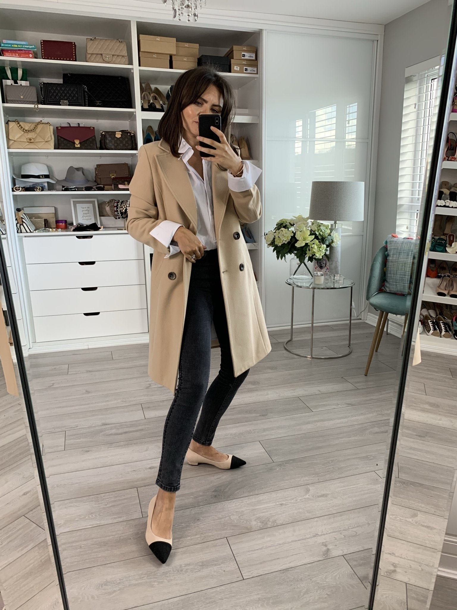 Tyla Coat In Camel - The Walk in Wardrobe
