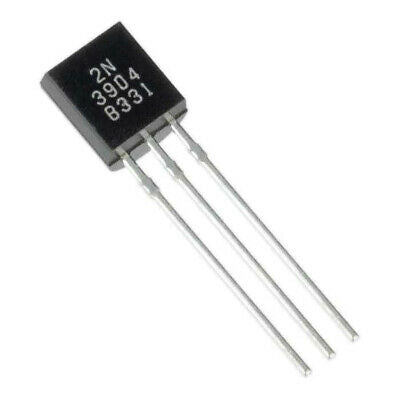2N3904 NPN TO-92 NPN Silicon Small Signal Transistor